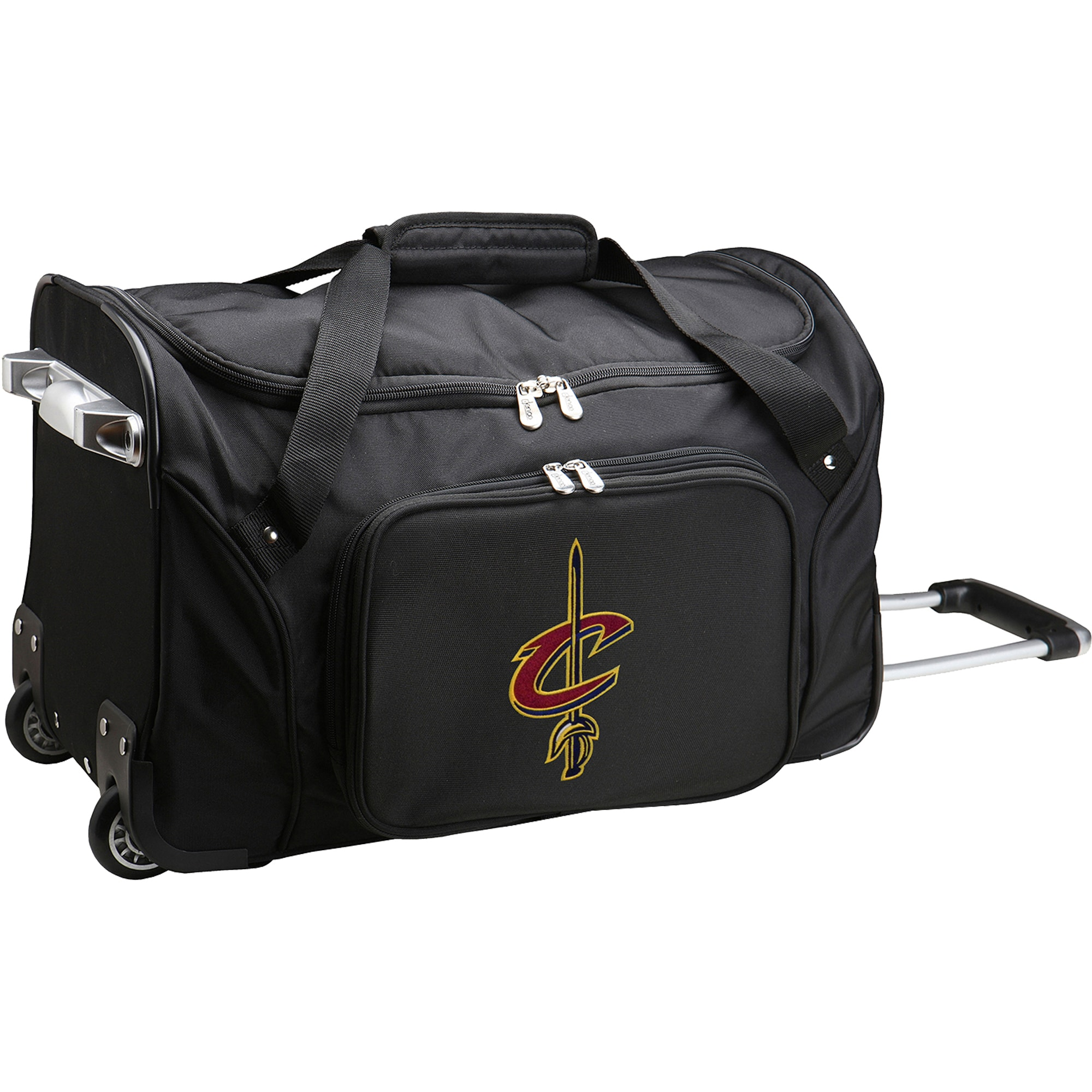 "Cleveland Cavaliers 22"" 2-Wheeled Duffel Bag - Black"