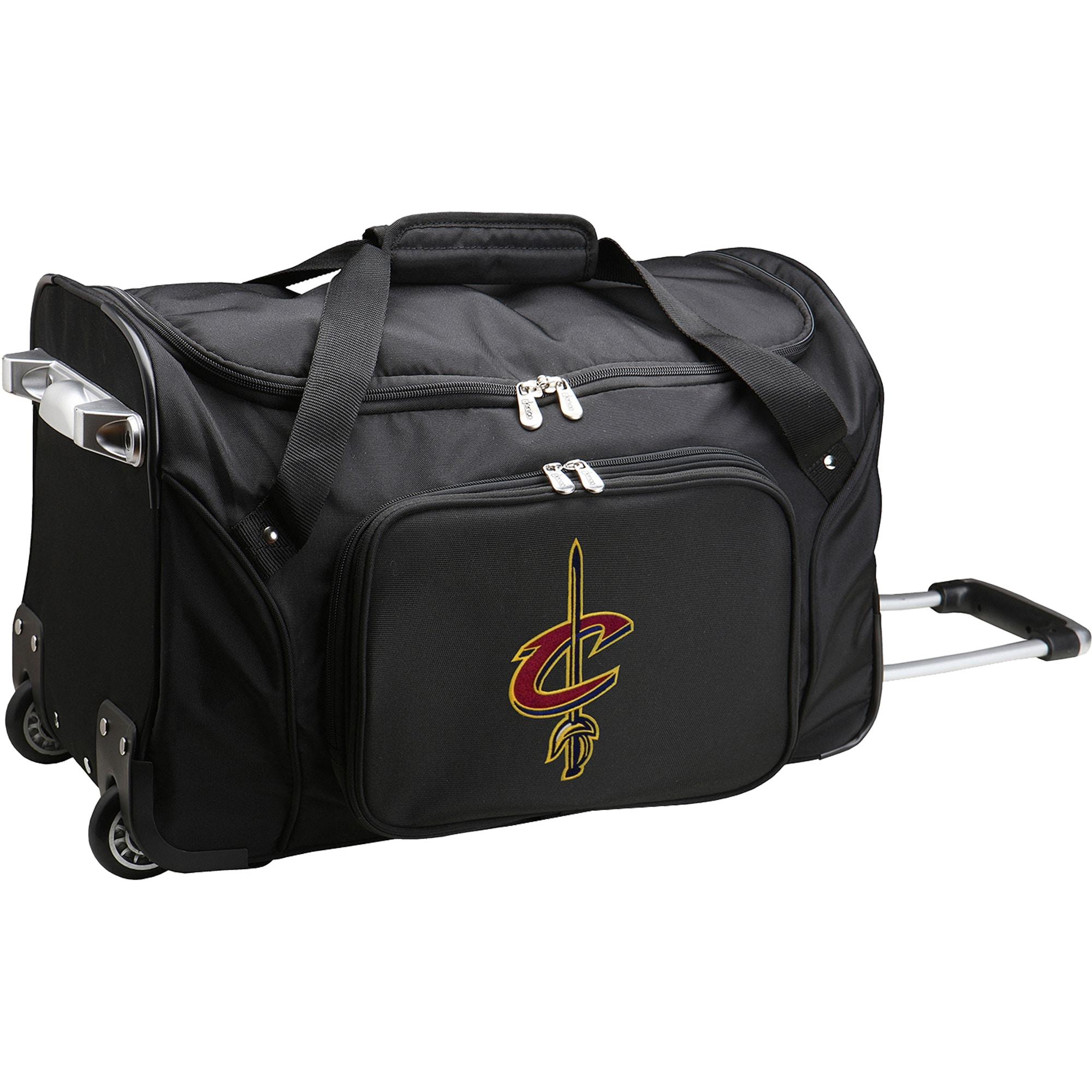 "Cleveland Cavaliers 22"" 2-Wheeled Duffel Bag - Black"
