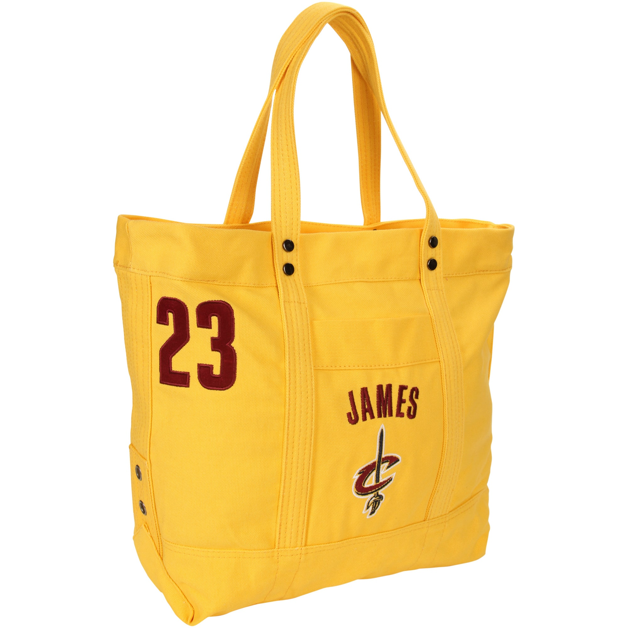LeBron James Cleveland Cavaliers Women's High End Canvas Tote