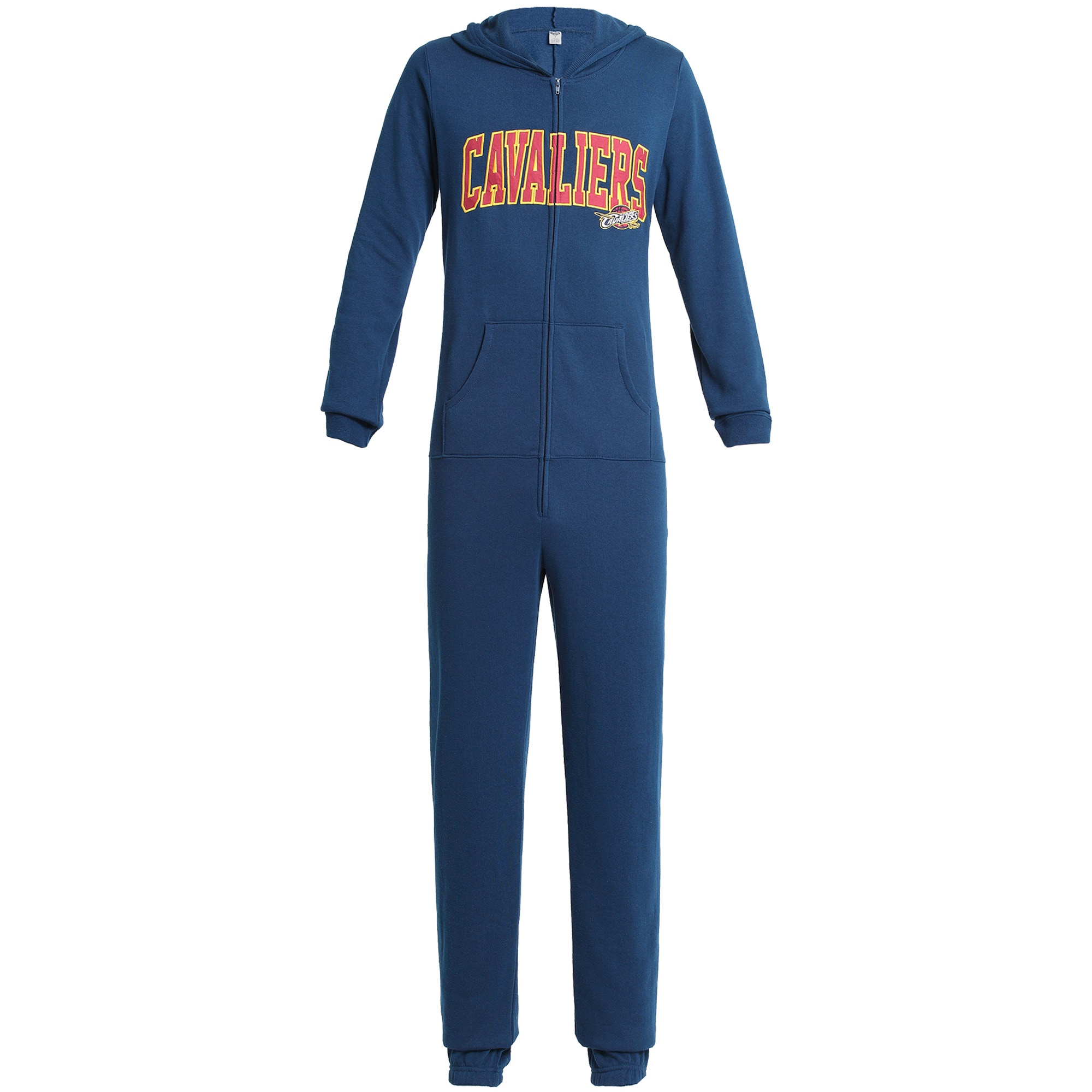 Cleveland Cavaliers Concepts Sport Forefront Union Suit Pajamas - Navy