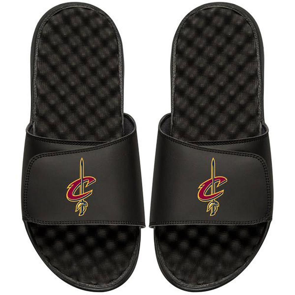 Cleveland Cavaliers Youth Primary iSlide Sandals - Black