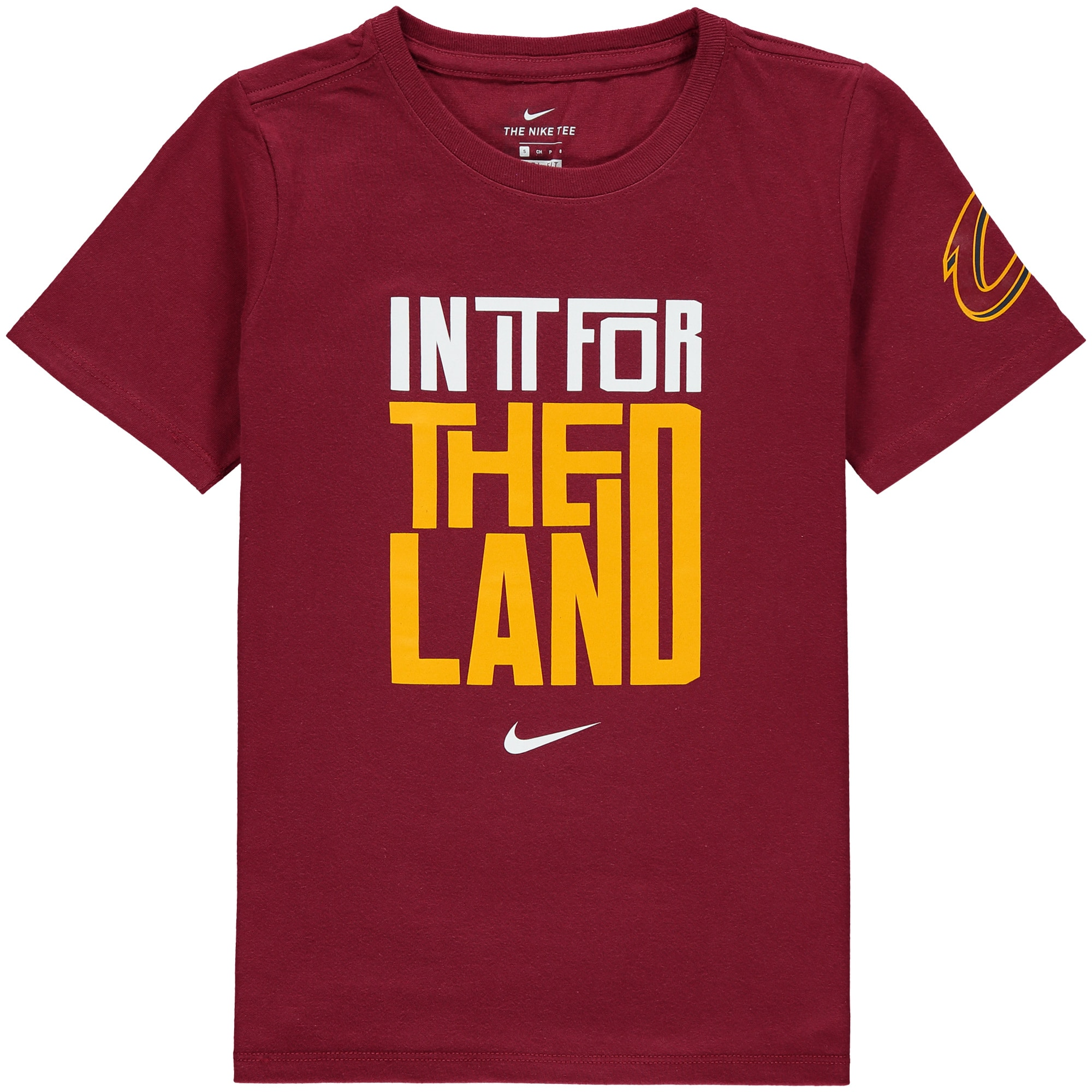 Cleveland Cavaliers Nike Youth In It Verbiage Performance T-Shirt - Wine