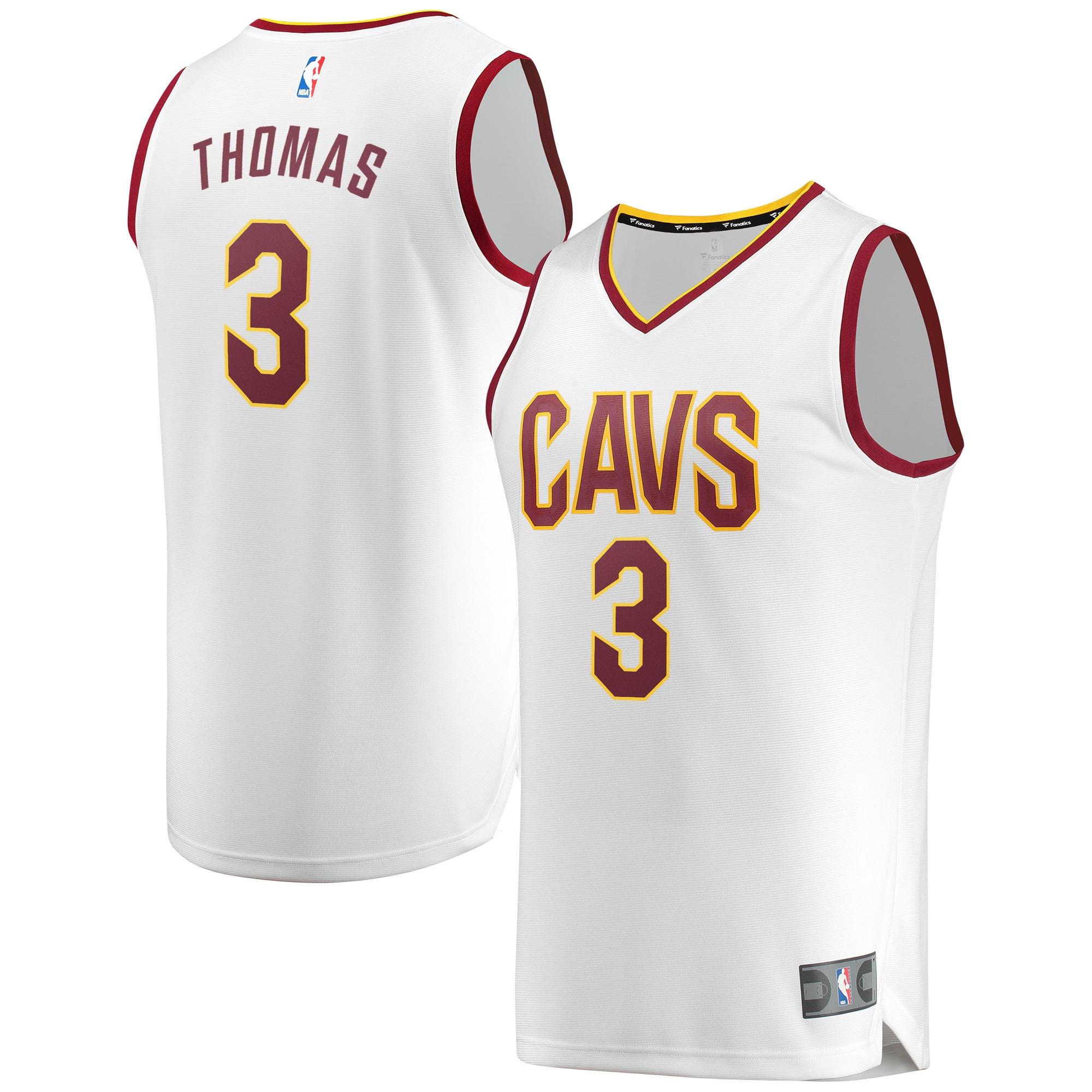 Isaiah Thomas Cleveland Cavaliers Fanatics Branded Fast Break Replica Jersey White - Association Edition