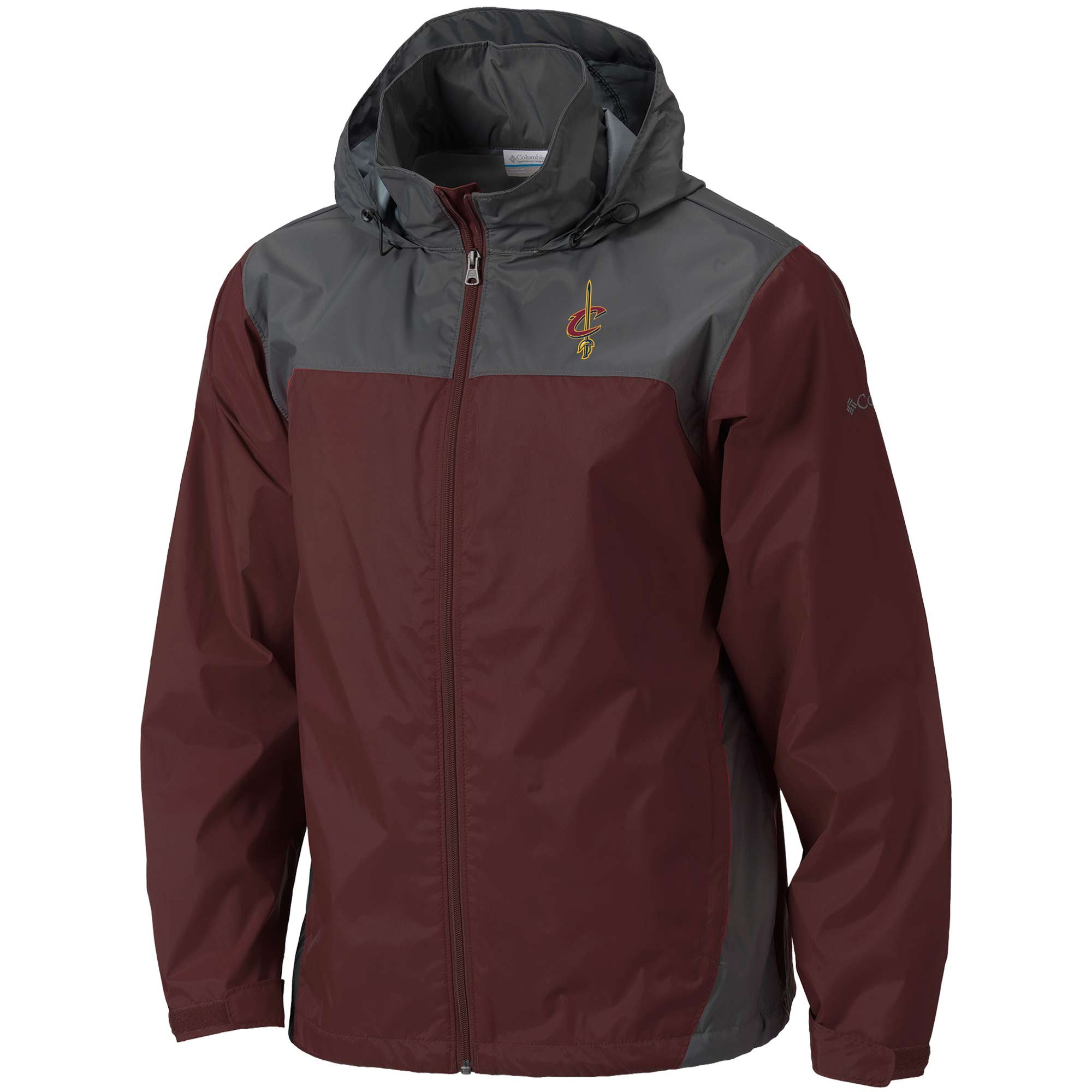 Cleveland Cavaliers Columbia Glennaker Lake Full-Zip Jacket - Wine