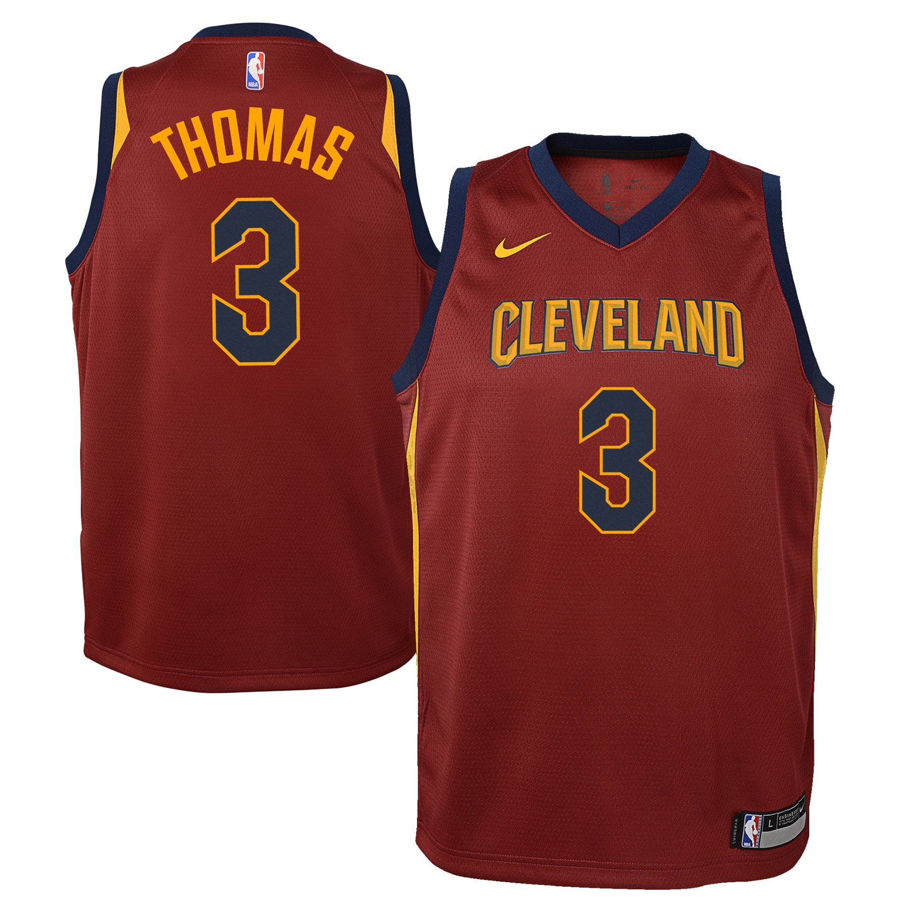 Isaiah Thomas Cleveland Cavaliers Nike Youth Swingman Jersey Maroon - Icon Edition