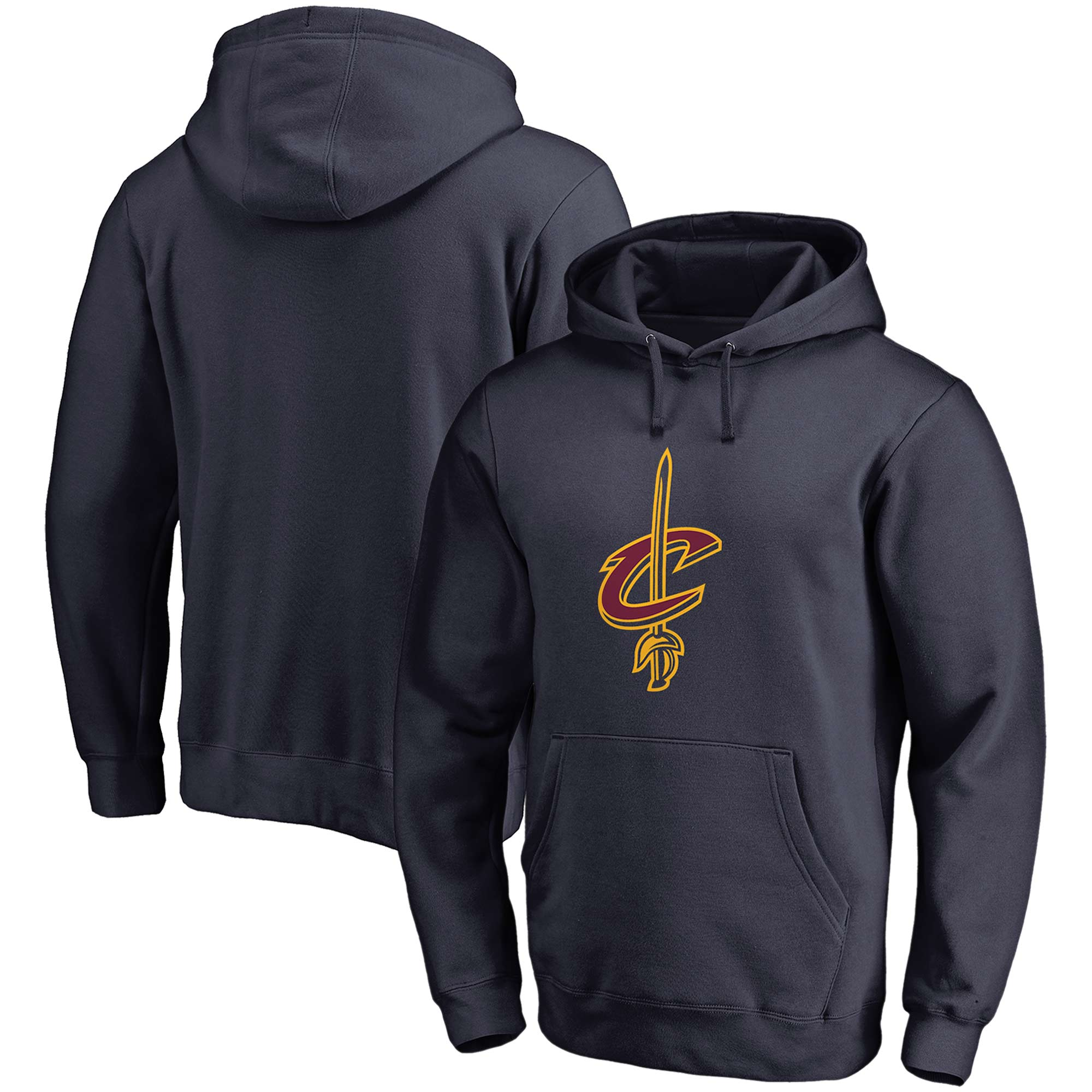 Cleveland Cavaliers Fanatics Branded Primary Team Logo Pullover Hoodie - Navy