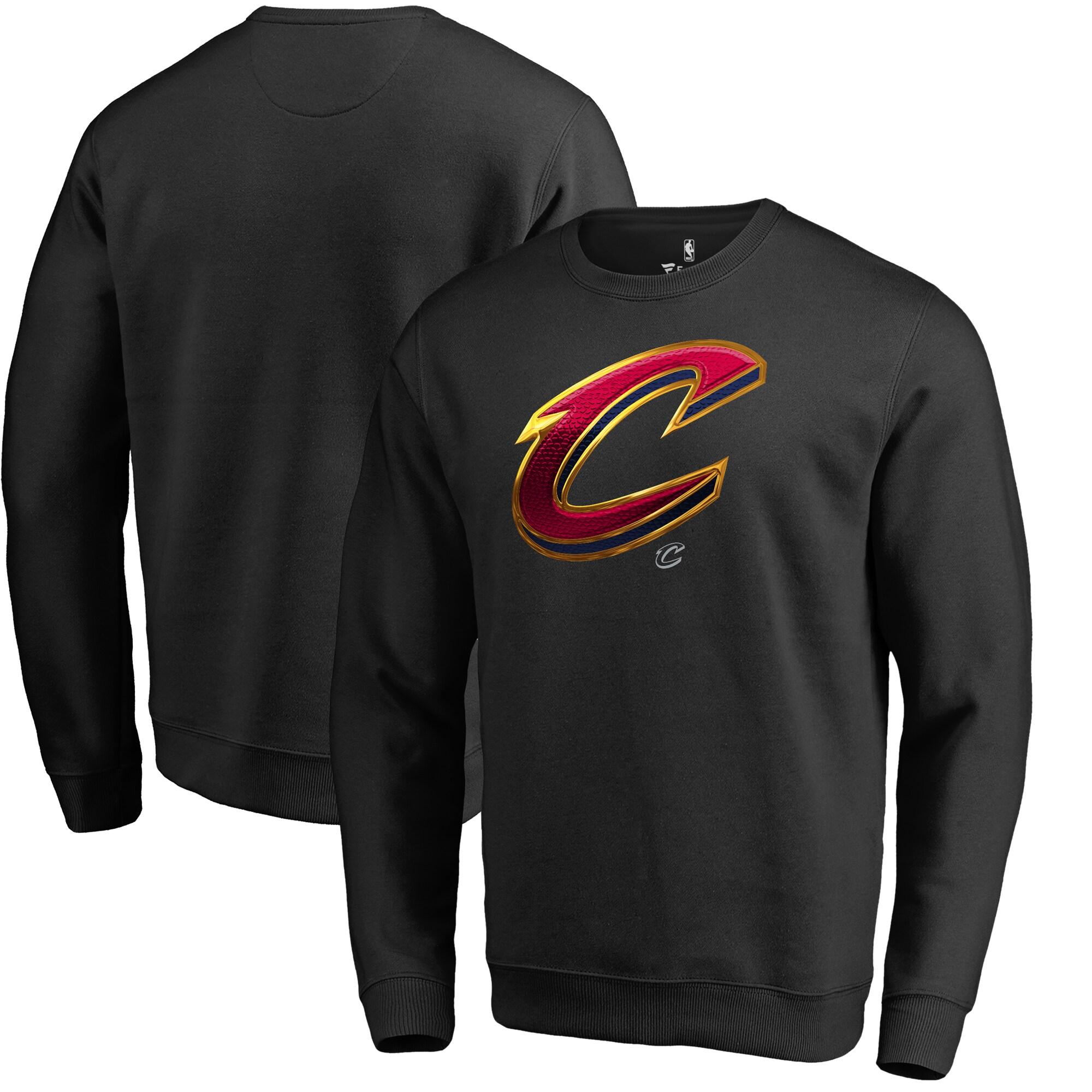 Cleveland Cavaliers Fanatics Branded Midnight Mascot Pullover Sweatshirt - Black