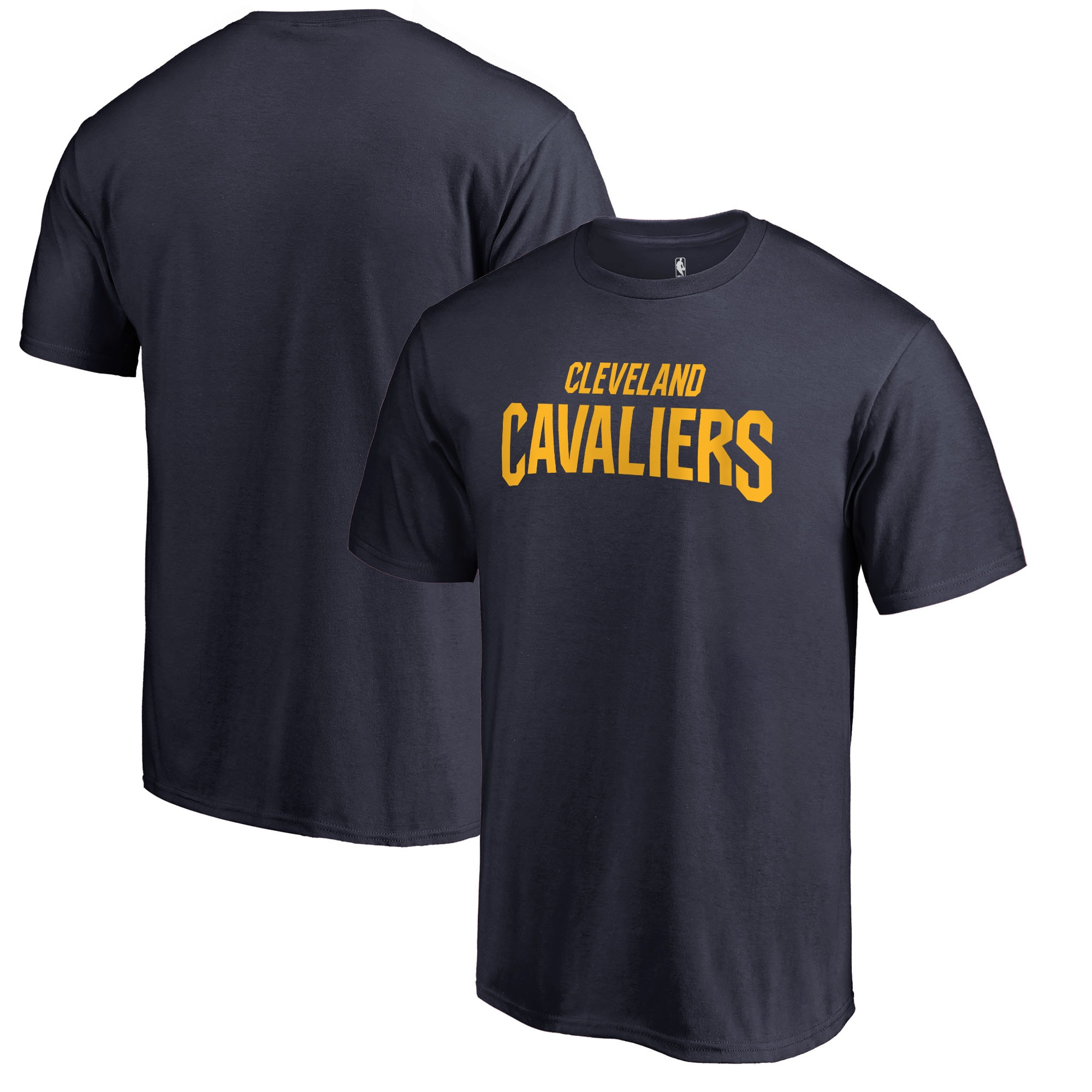 Cleveland Cavaliers Fanatics Branded Primary Wordmark T-Shirt - Navy