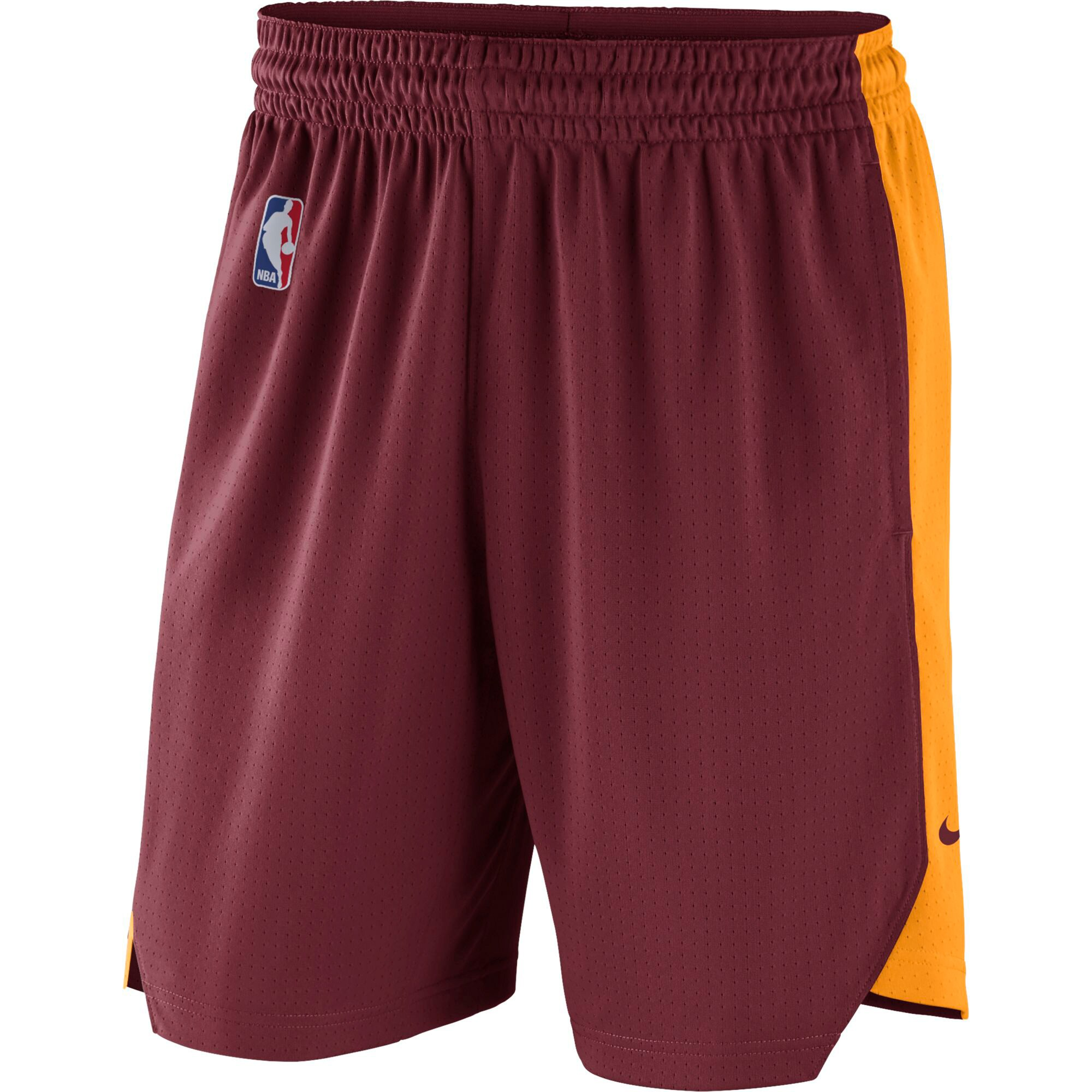 Cleveland Cavaliers Nike Practice Performance Shorts - Maroon