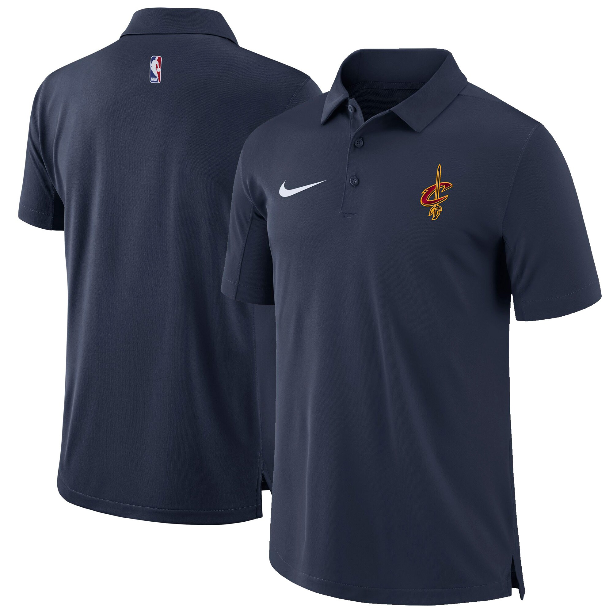 Cleveland Cavaliers Nike Core Performance Polo - Navy