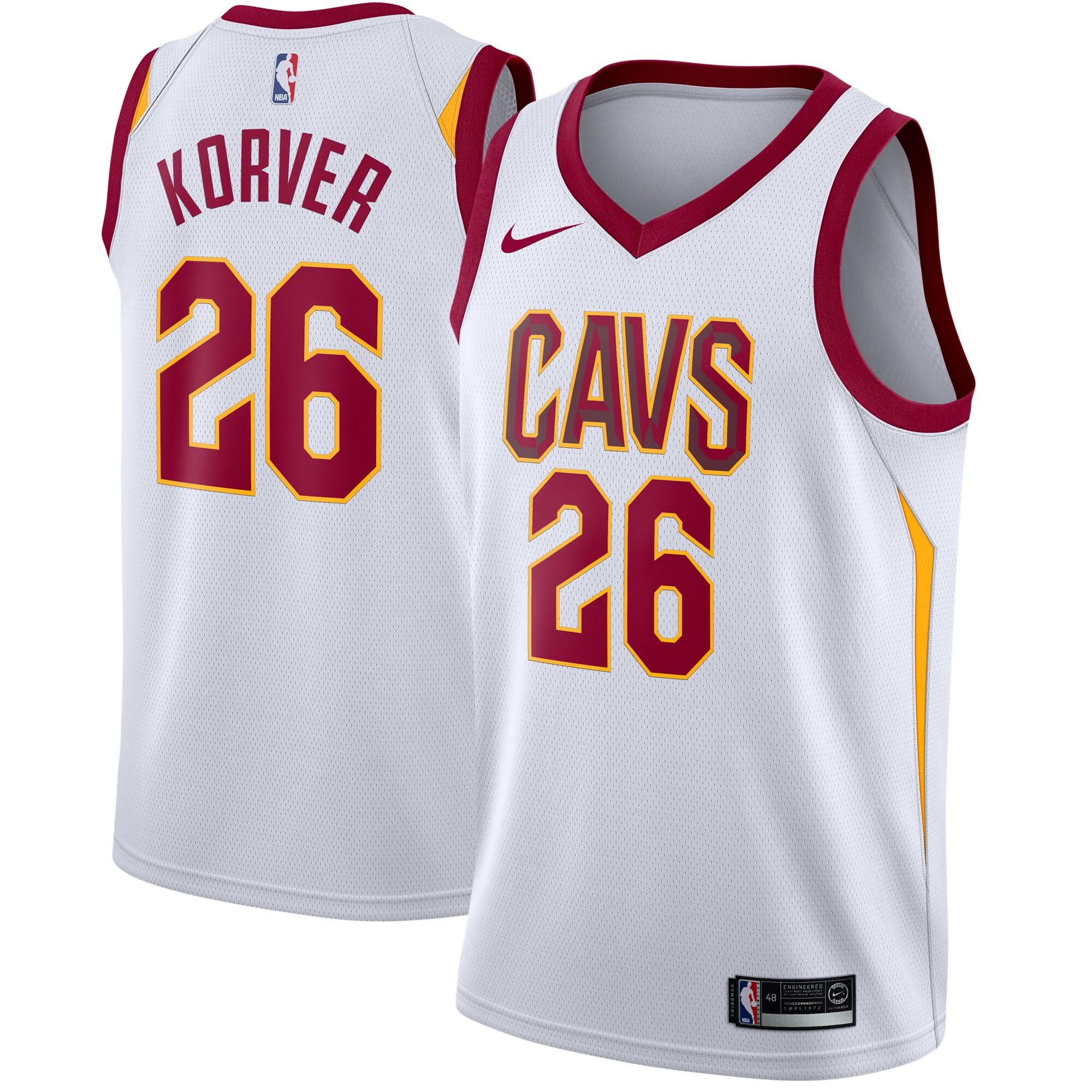 Kyle Korver Cleveland Cavaliers Nike Swingman Jersey White - Association Edition