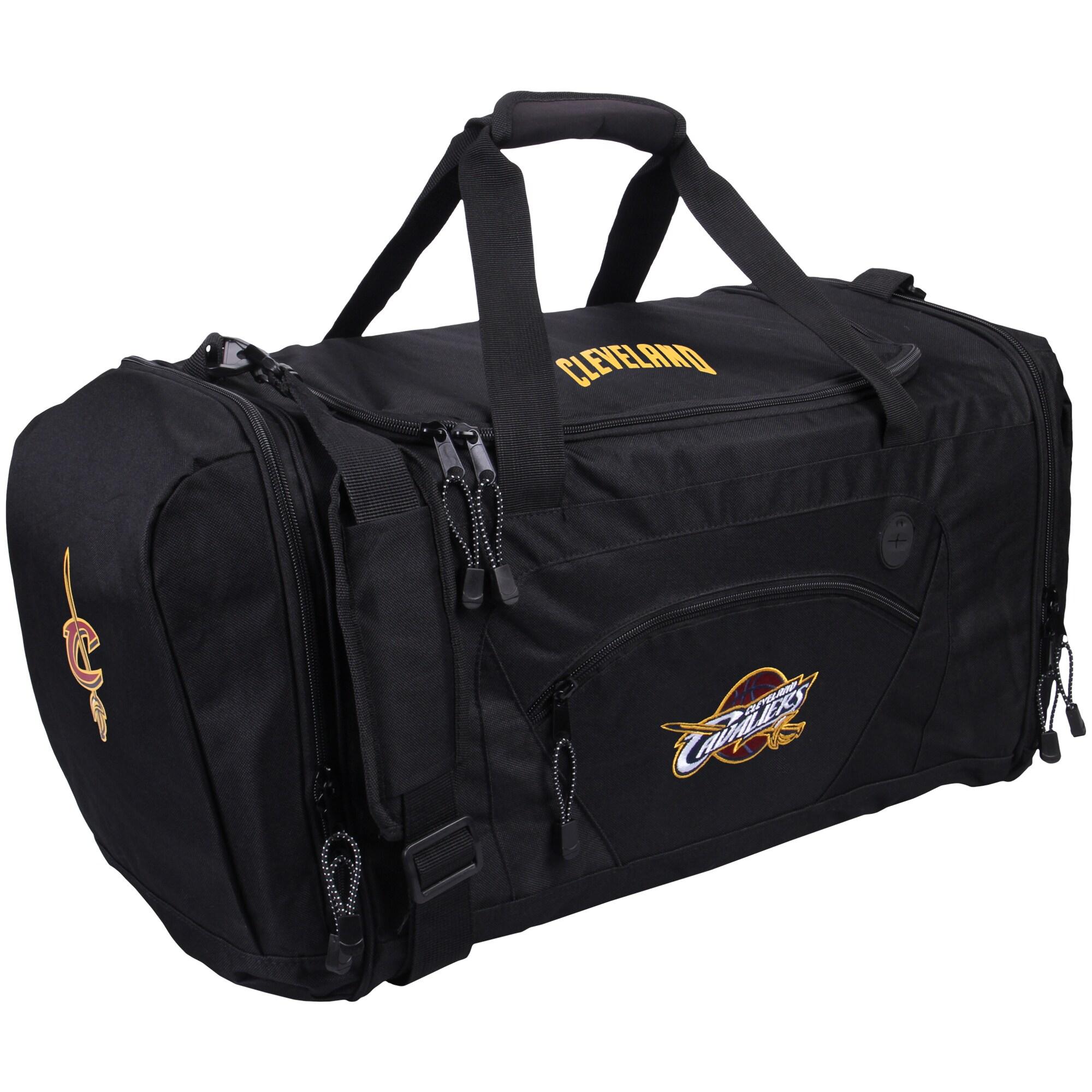 Cleveland Cavaliers The Northwest Company Roadblock Duffel Bag - Black