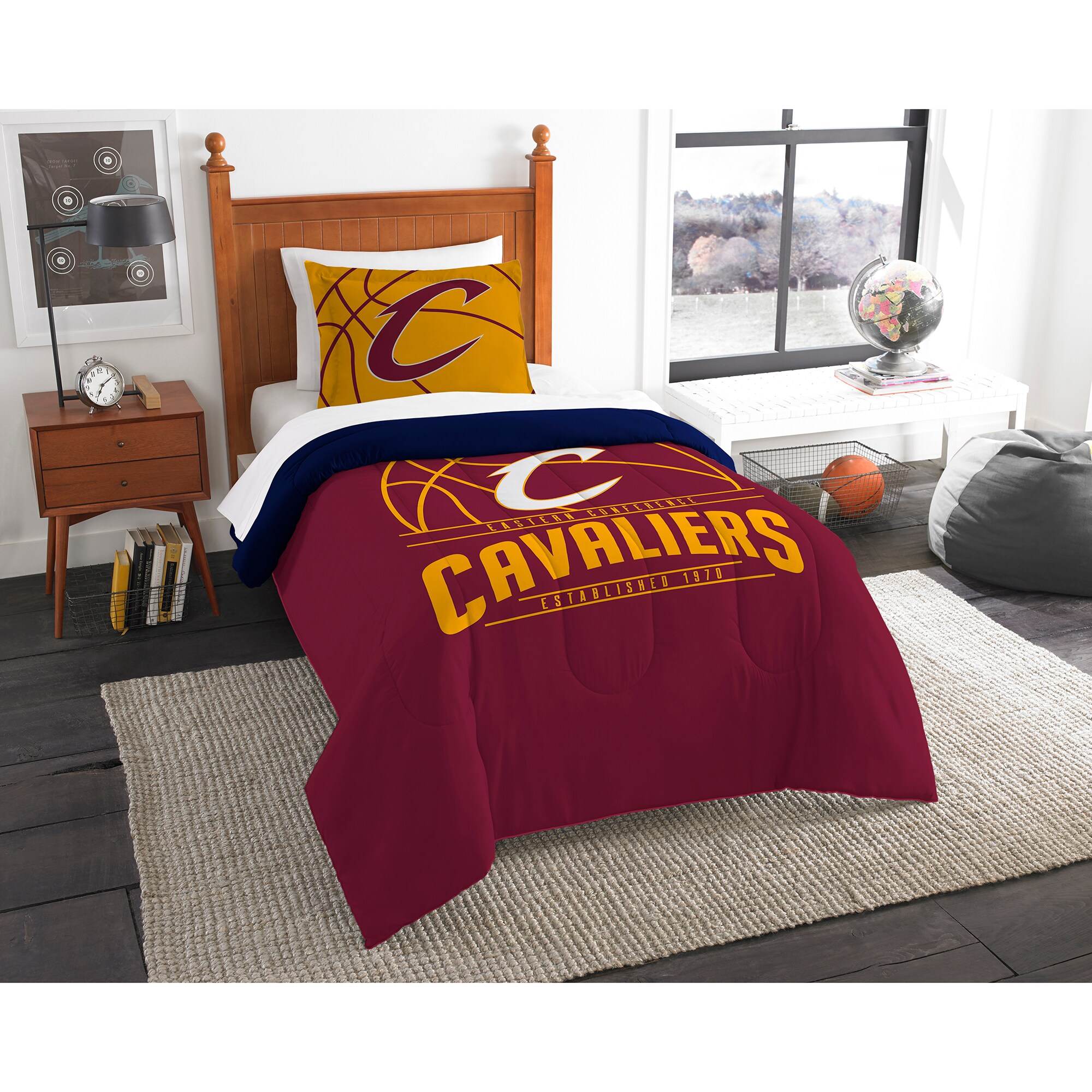 Cleveland Cavaliers The Northwest Company Reverse Slam Twin Comforter Set