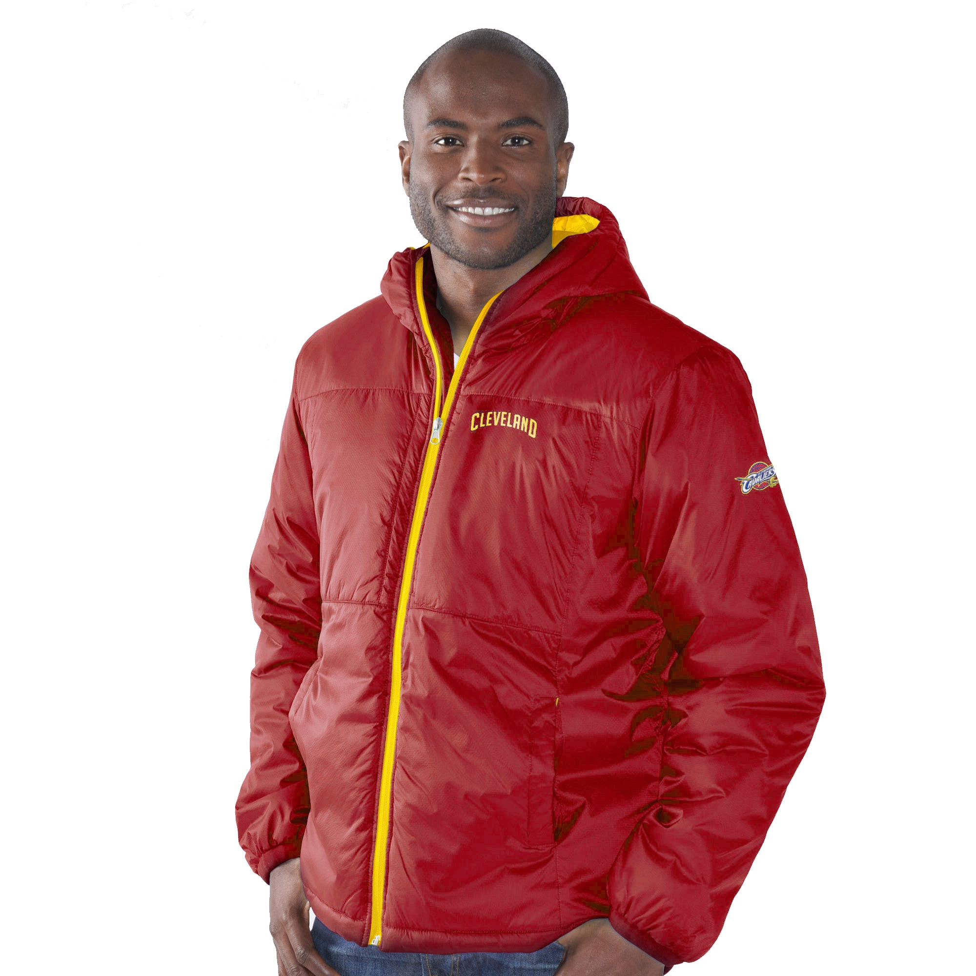 Cleveland Cavaliers G-III Sports by Carl Banks Top of the Key Hooded Full-Zip Jacket - Wine