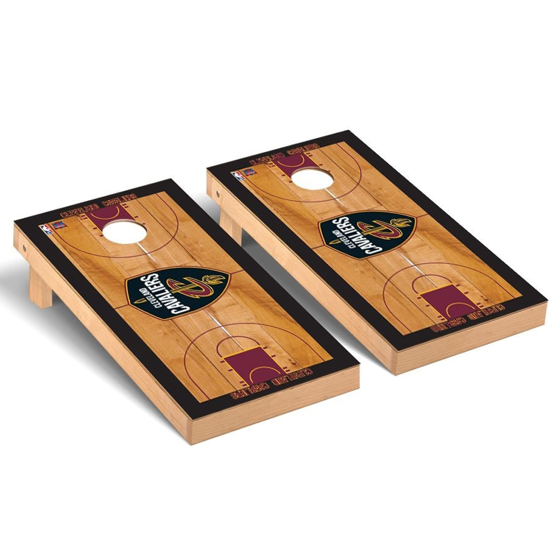 Cleveland Cavaliers 2' x 4' Court Cornhole Game Set