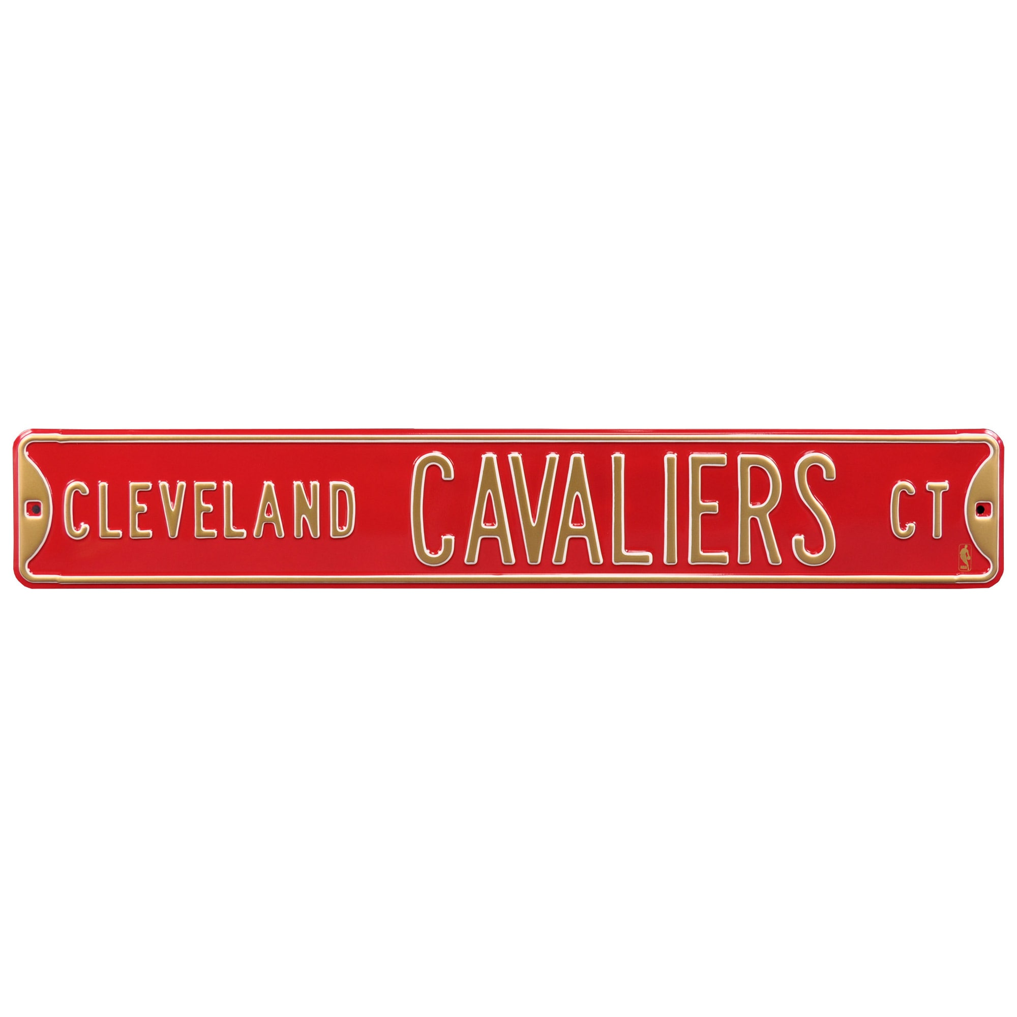 """Cleveland Cavaliers 6"""" x 36"""" Steel Street Sign"""