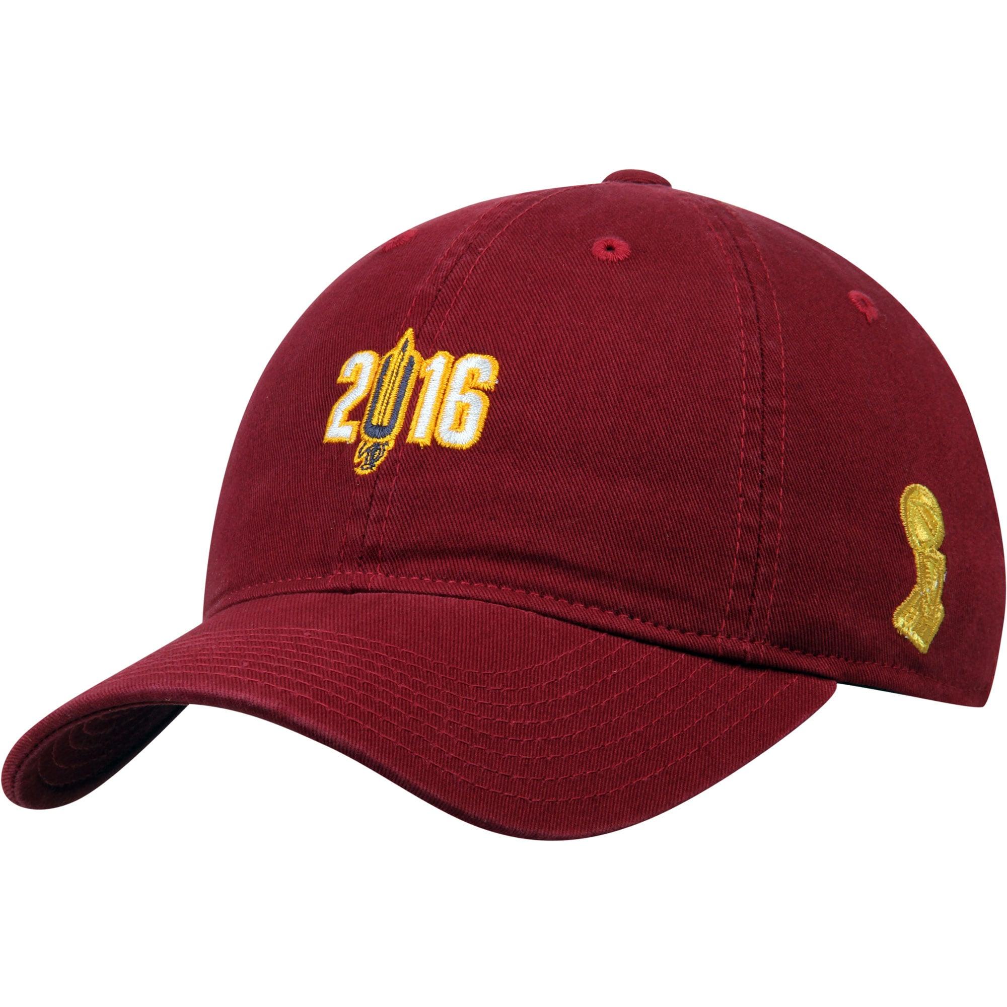 Cleveland Cavaliers Mitchell & Ness 2016 NBA Champions Dad Adjustable Hat - Wine