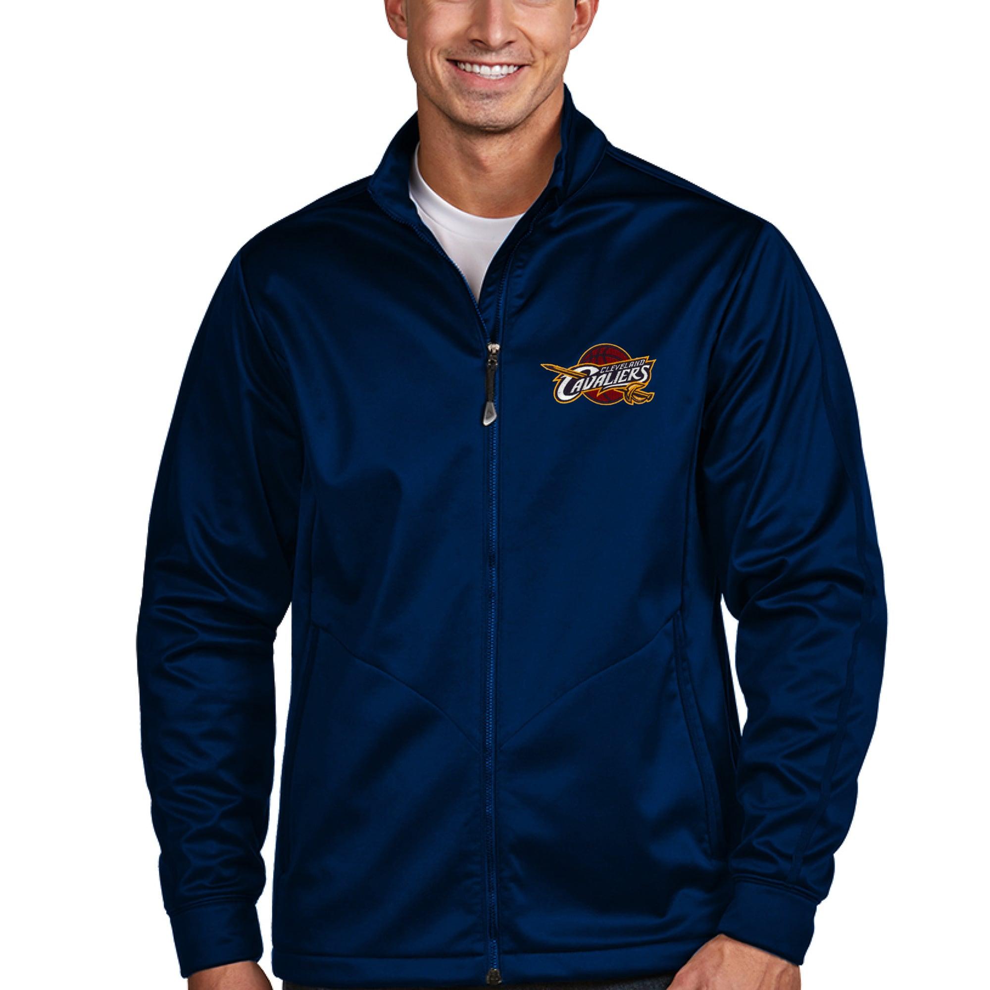 Cleveland Cavaliers Antigua Golf Full-Zip Jacket - Navy