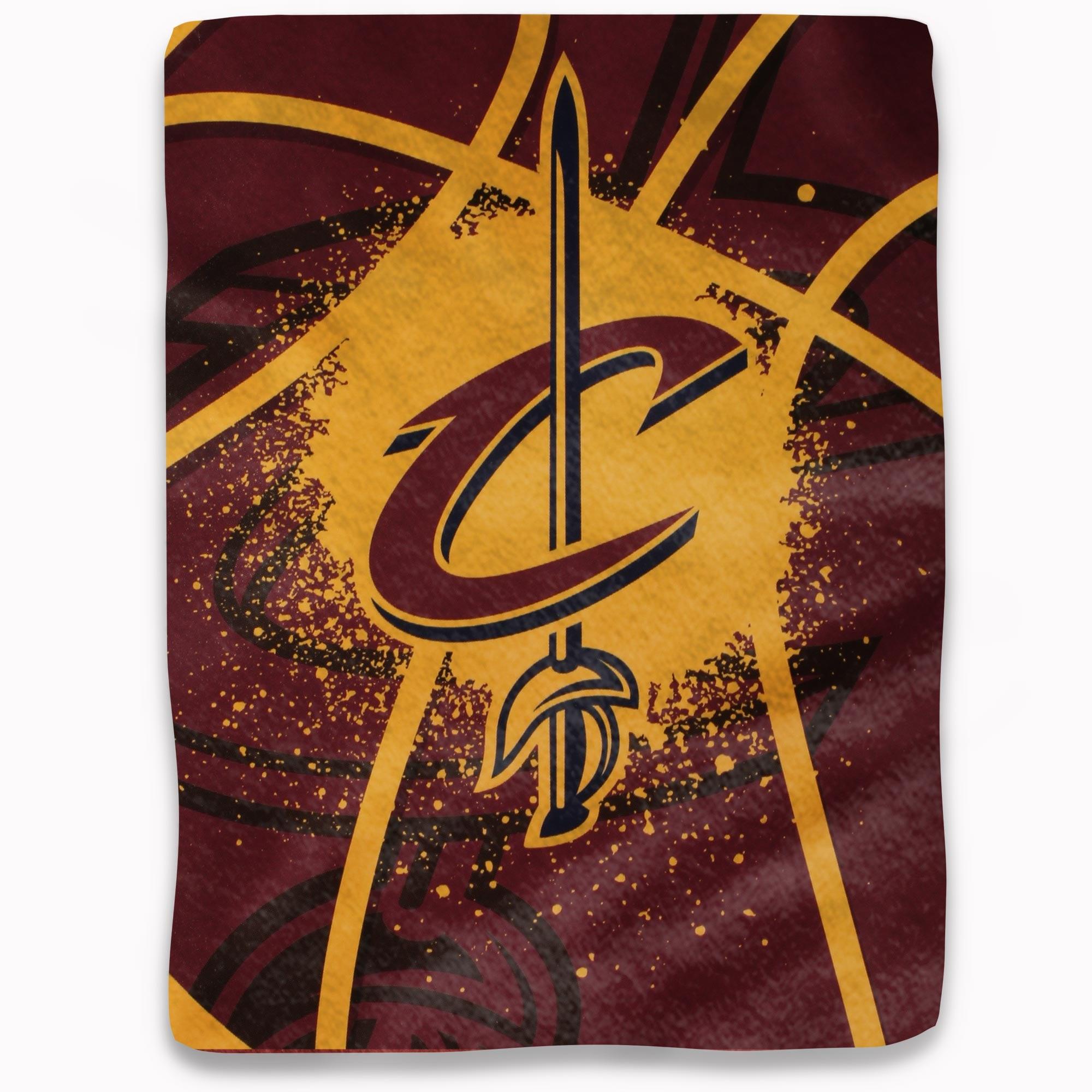 "Cleveland Cavaliers Shadow Play 60"" x 80"" Plush Blanket"
