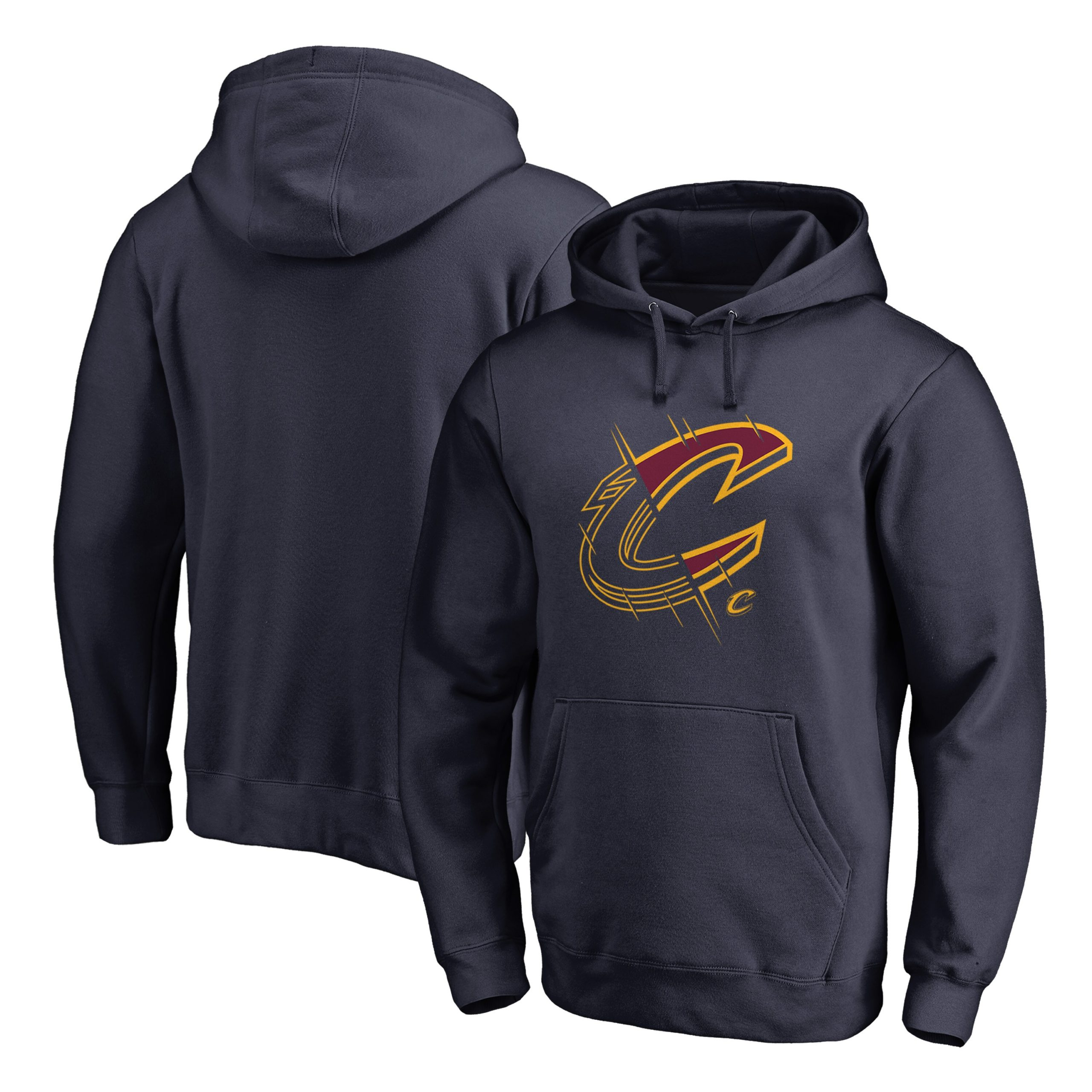 Cleveland Cavaliers Fanatics Branded X-Ray Pullover Hoodie - Navy