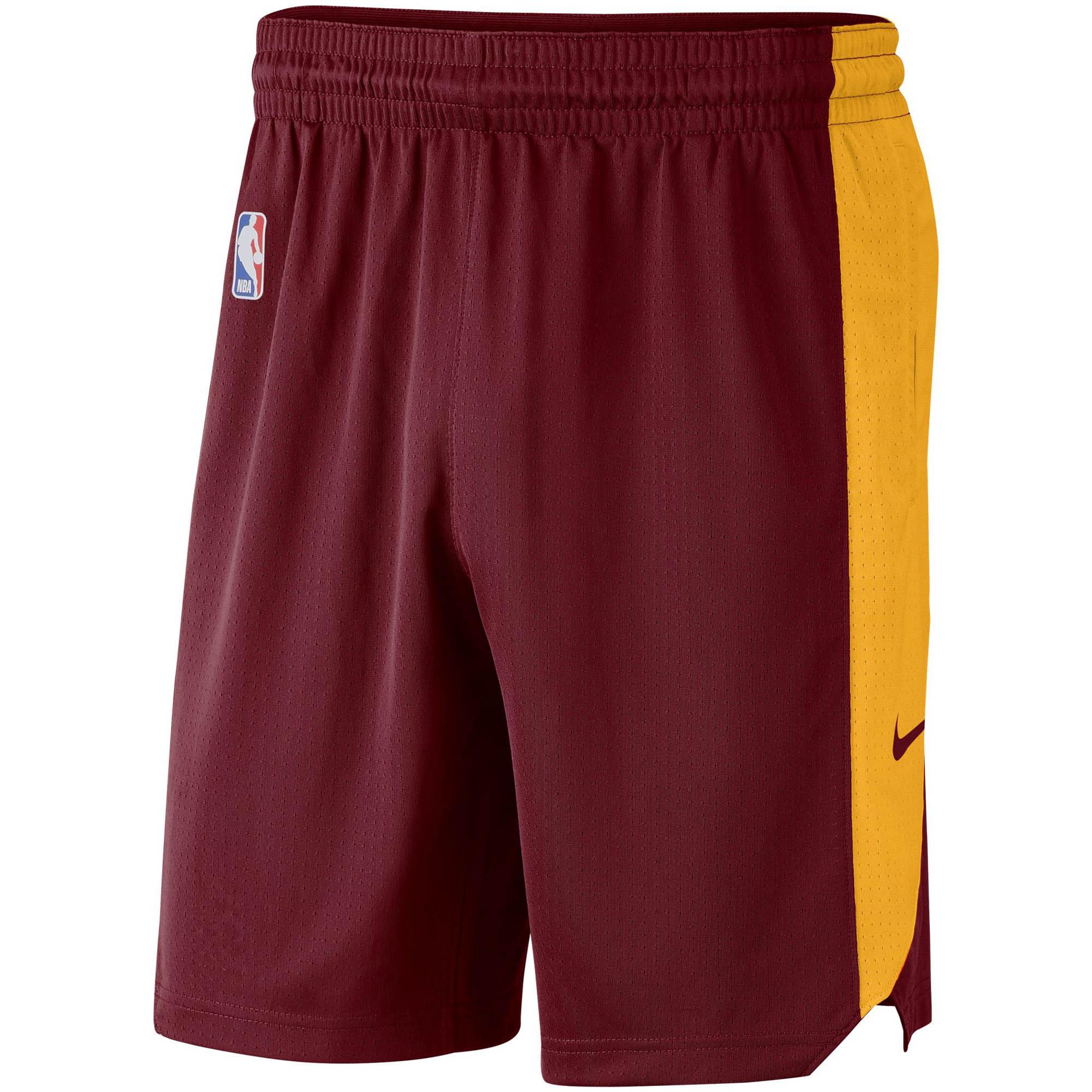 Cleveland Cavaliers Nike Performance Practice Shorts - Wine