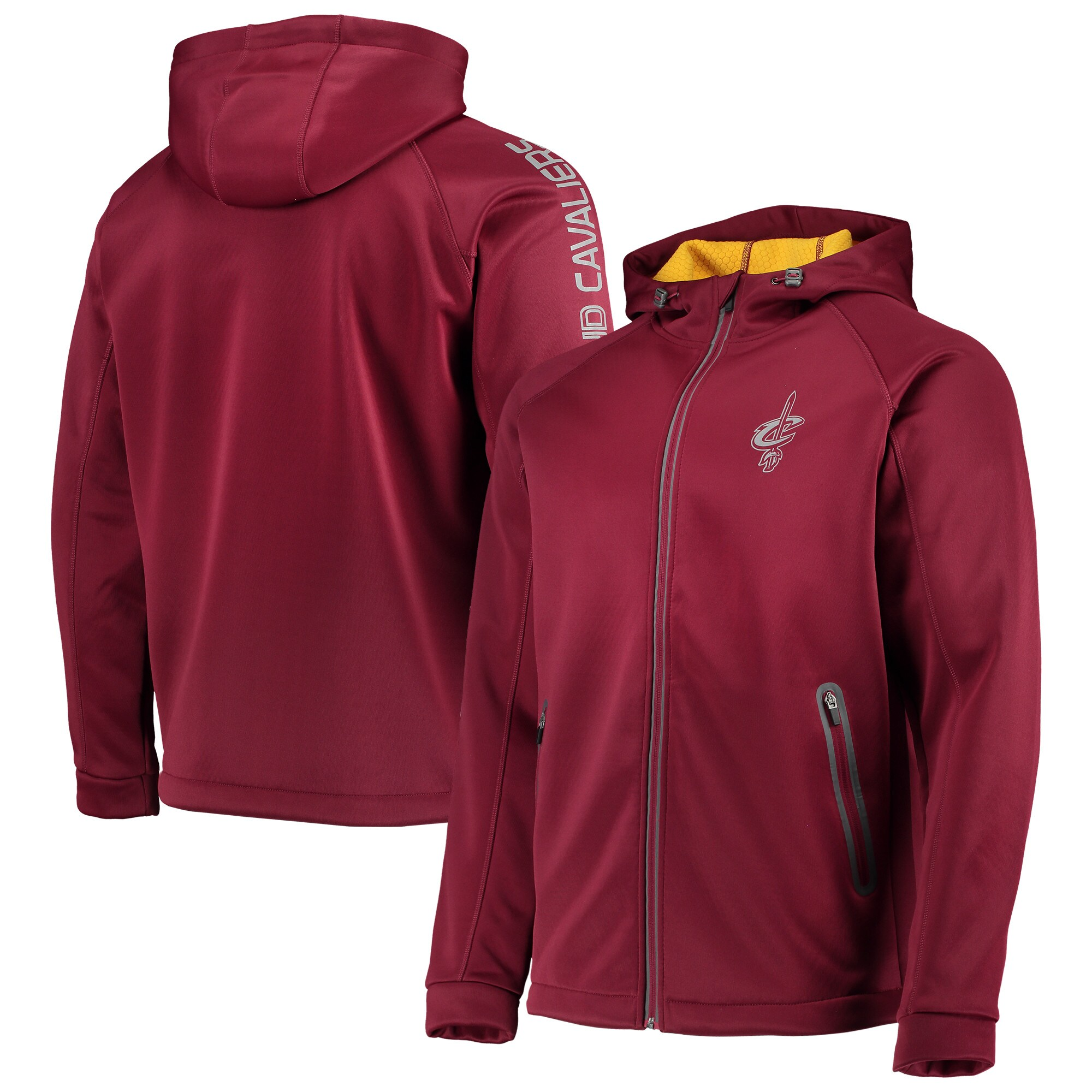 Cleveland Cavaliers G-III Sports by Carl Banks Motion Full-Zip Jacket - Wine
