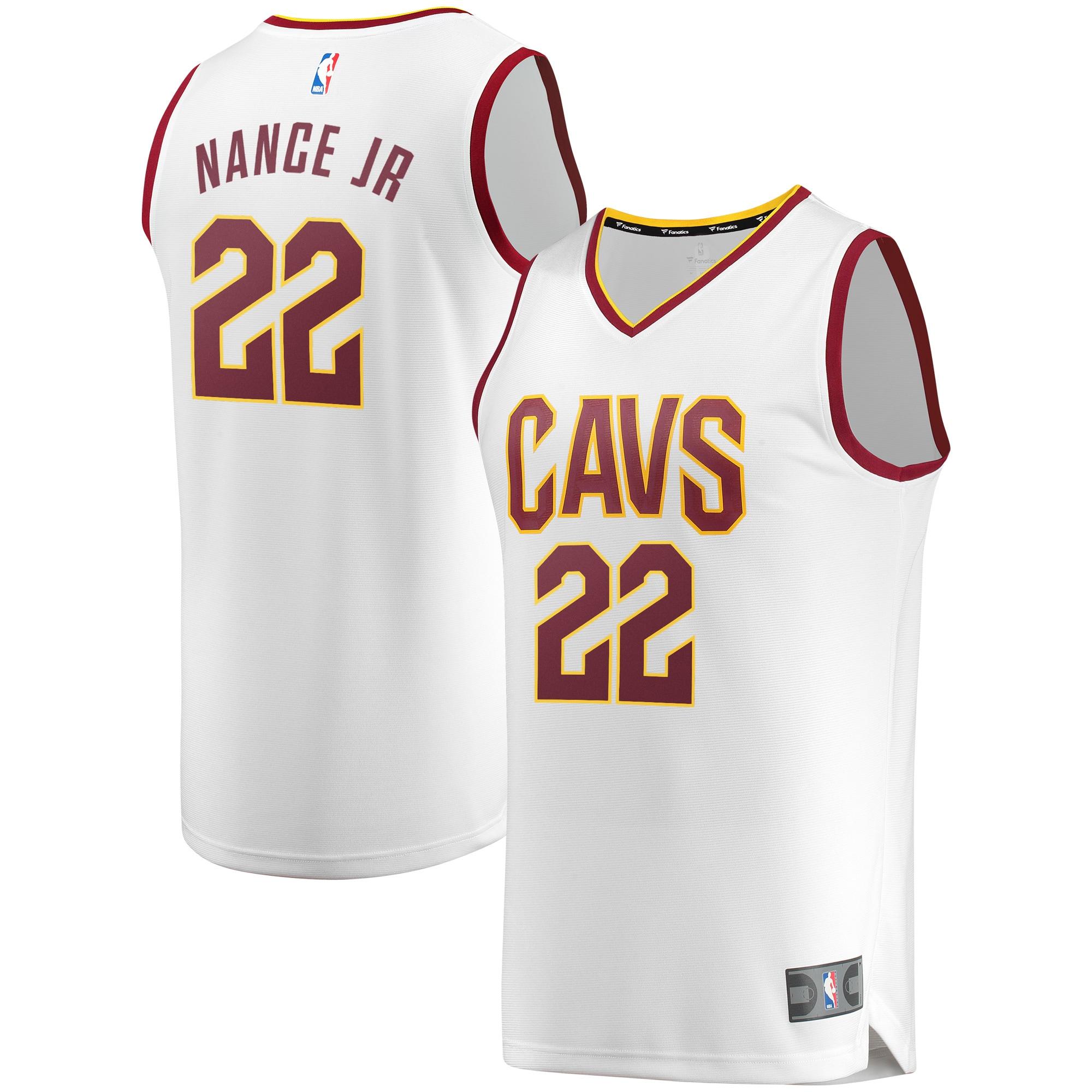 Larry Nance Jr. Cleveland Cavaliers Fanatics Branded White Fast Break Player Jersey - Association Edition
