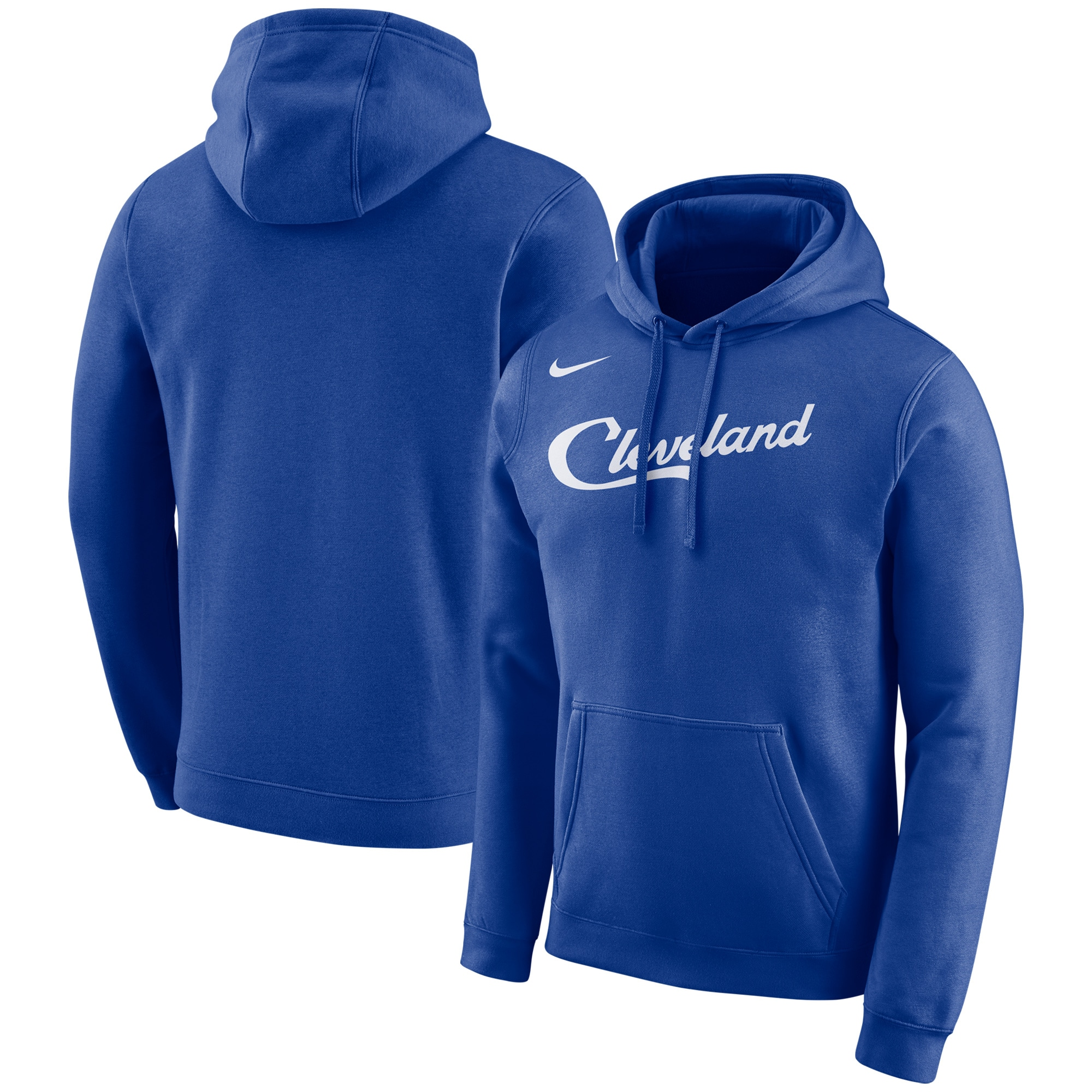 Cleveland Cavaliers Nike City Edition Logo Essential Pullover Hoodie - Blue