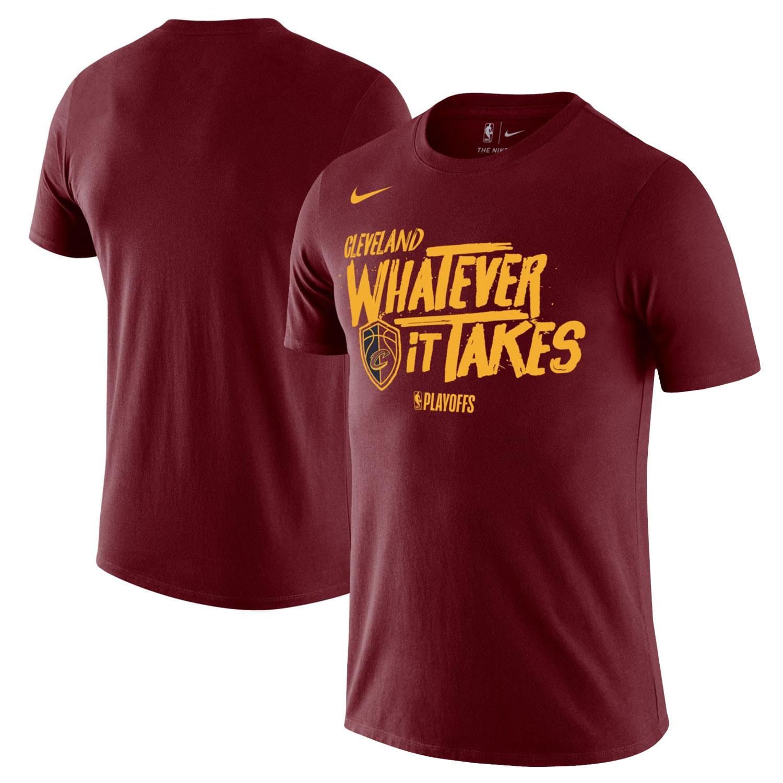 Cleveland Cavaliers Nike NBA Playoffs Mantra Legend T-Shirt - Wine