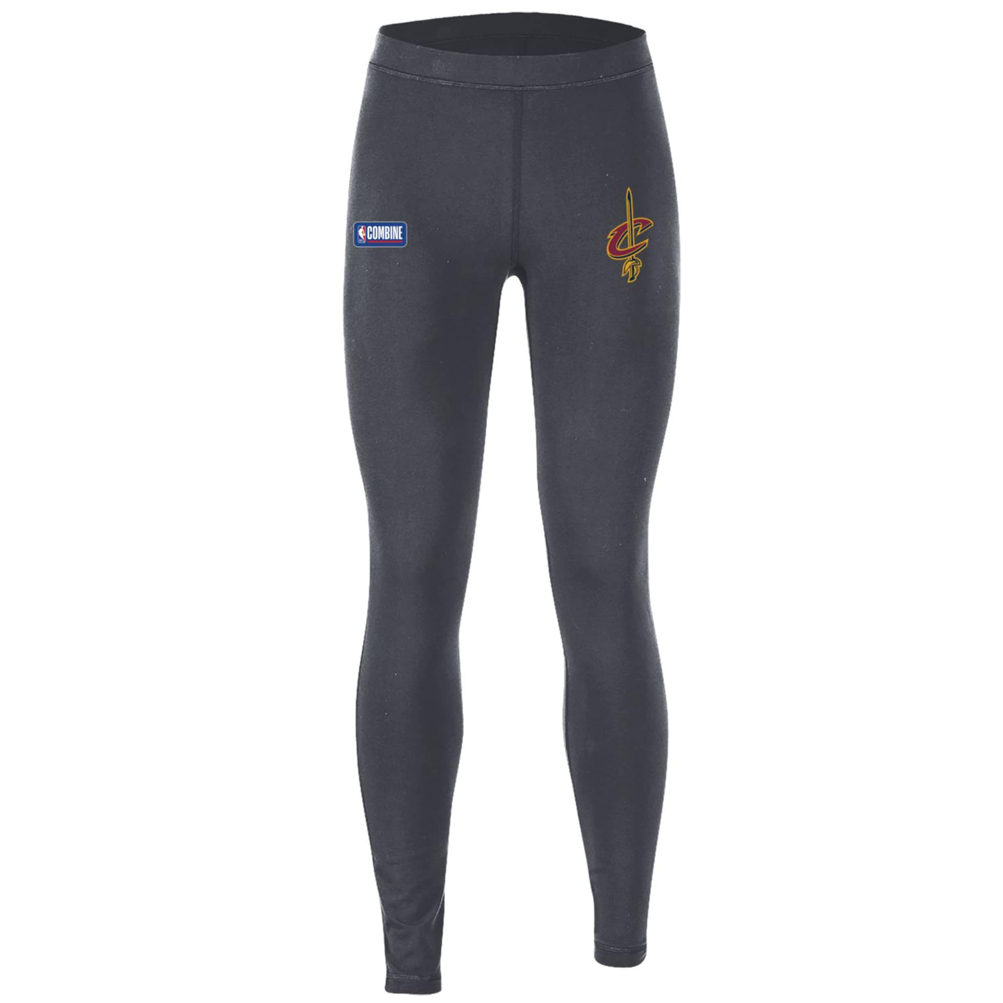 Cleveland Cavaliers Under Armour Women's Combine Authentic Favorites Performance Leggings - Heathered Charcoal