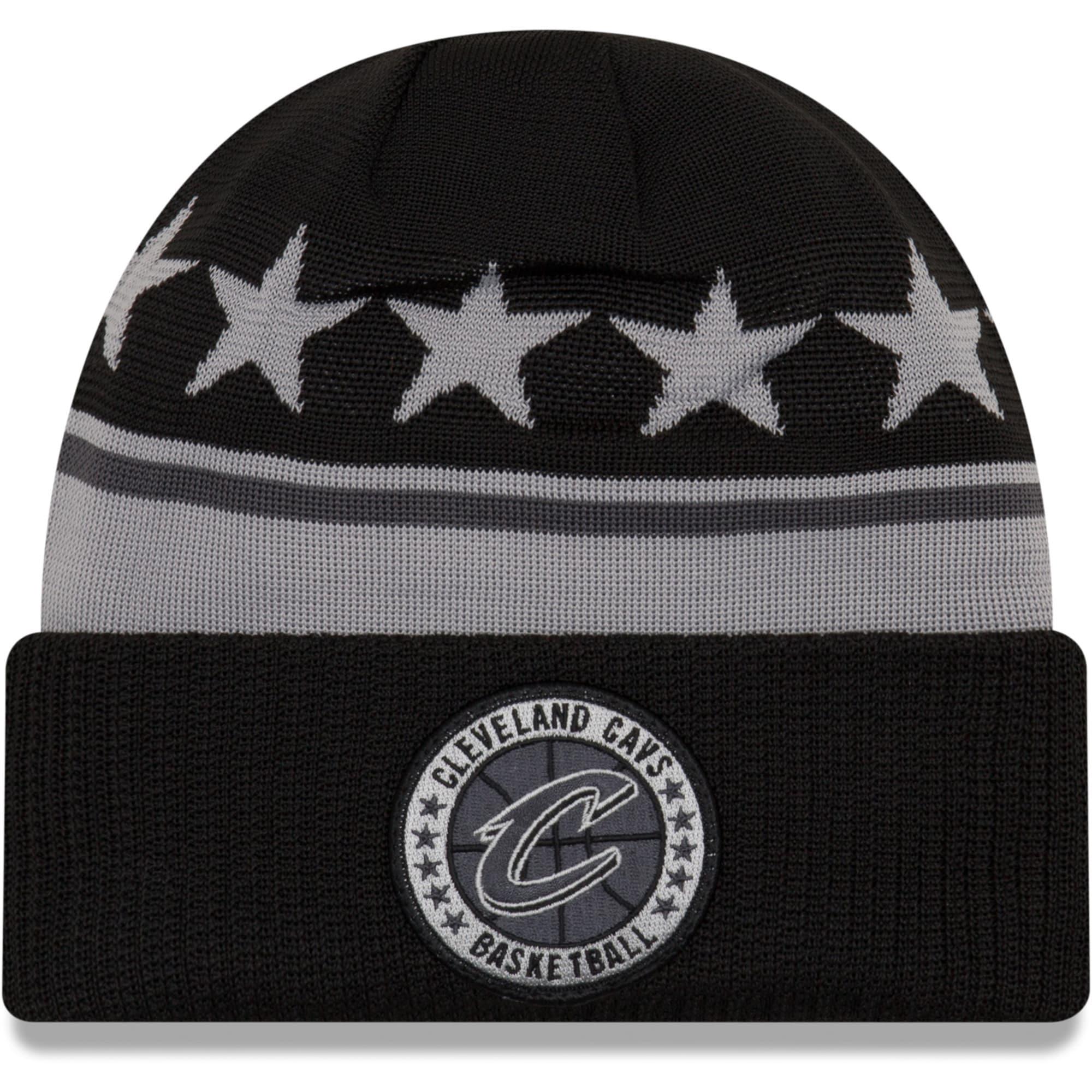Cleveland Cavaliers New Era 2018 Tip Off Series Cuffed Knit Hat - Black