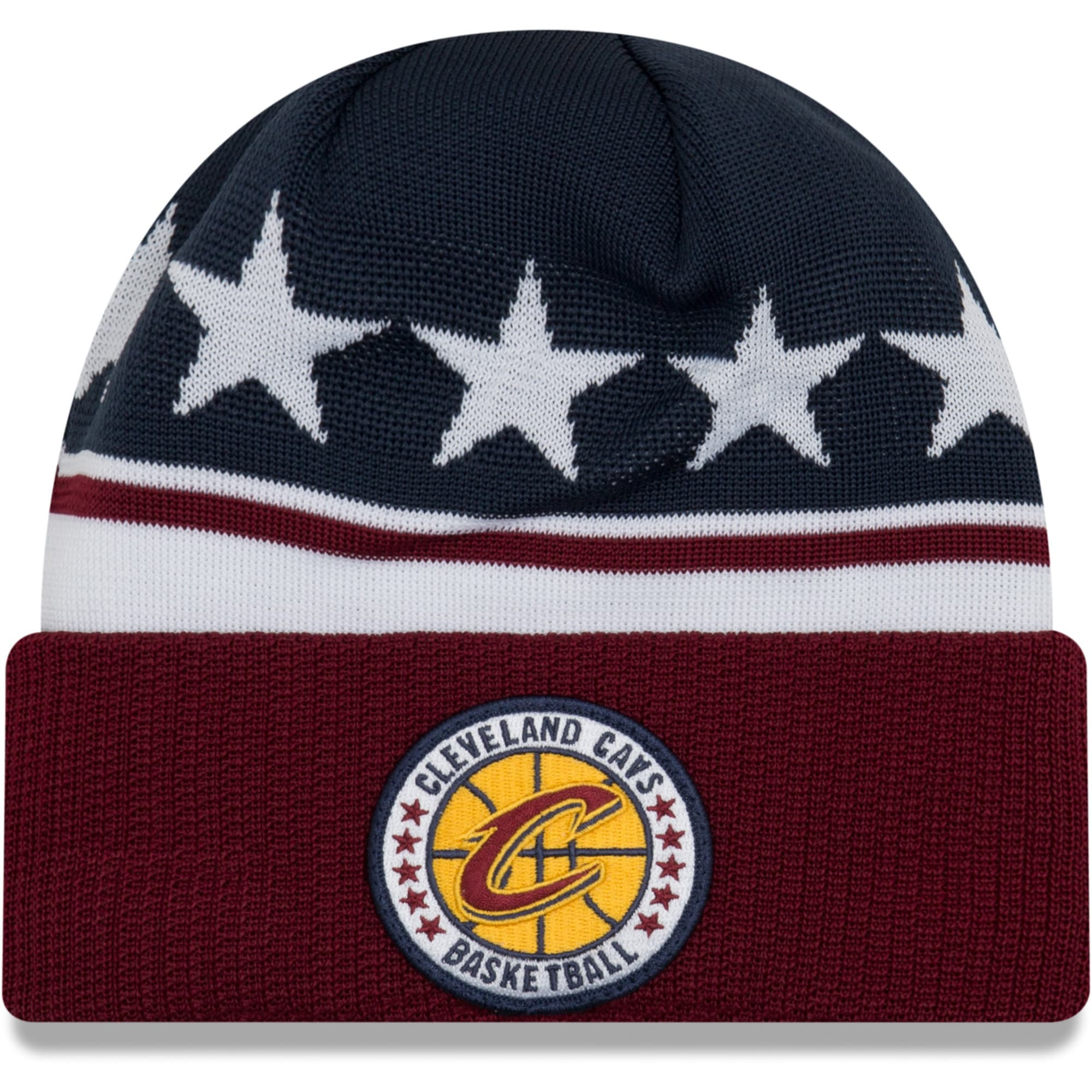 Cleveland Cavaliers New Era 2018 Tip Off Series Cuffed Knit Hat - Wine