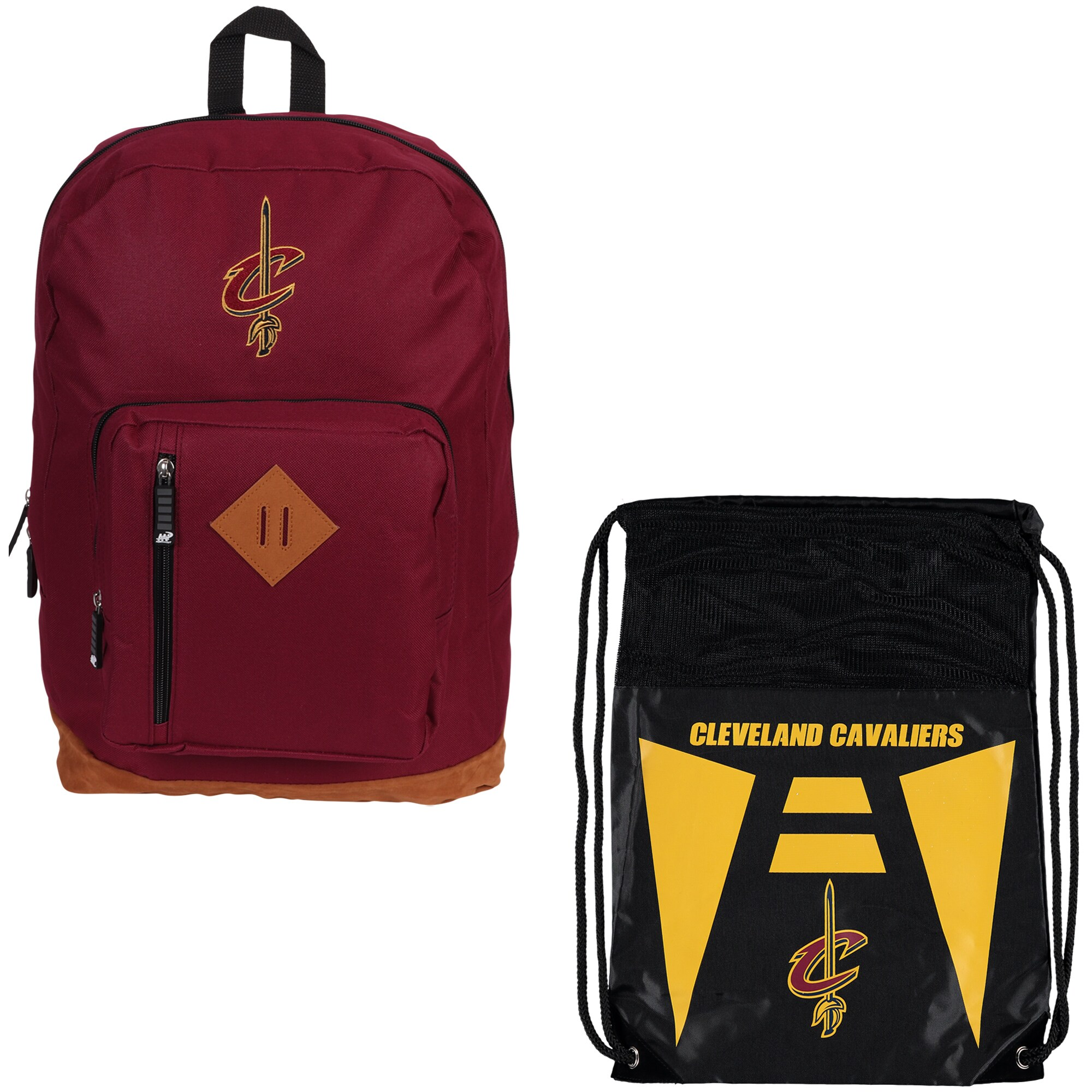 Cleveland Cavaliers The Northwest Company Double Down Backpack Set