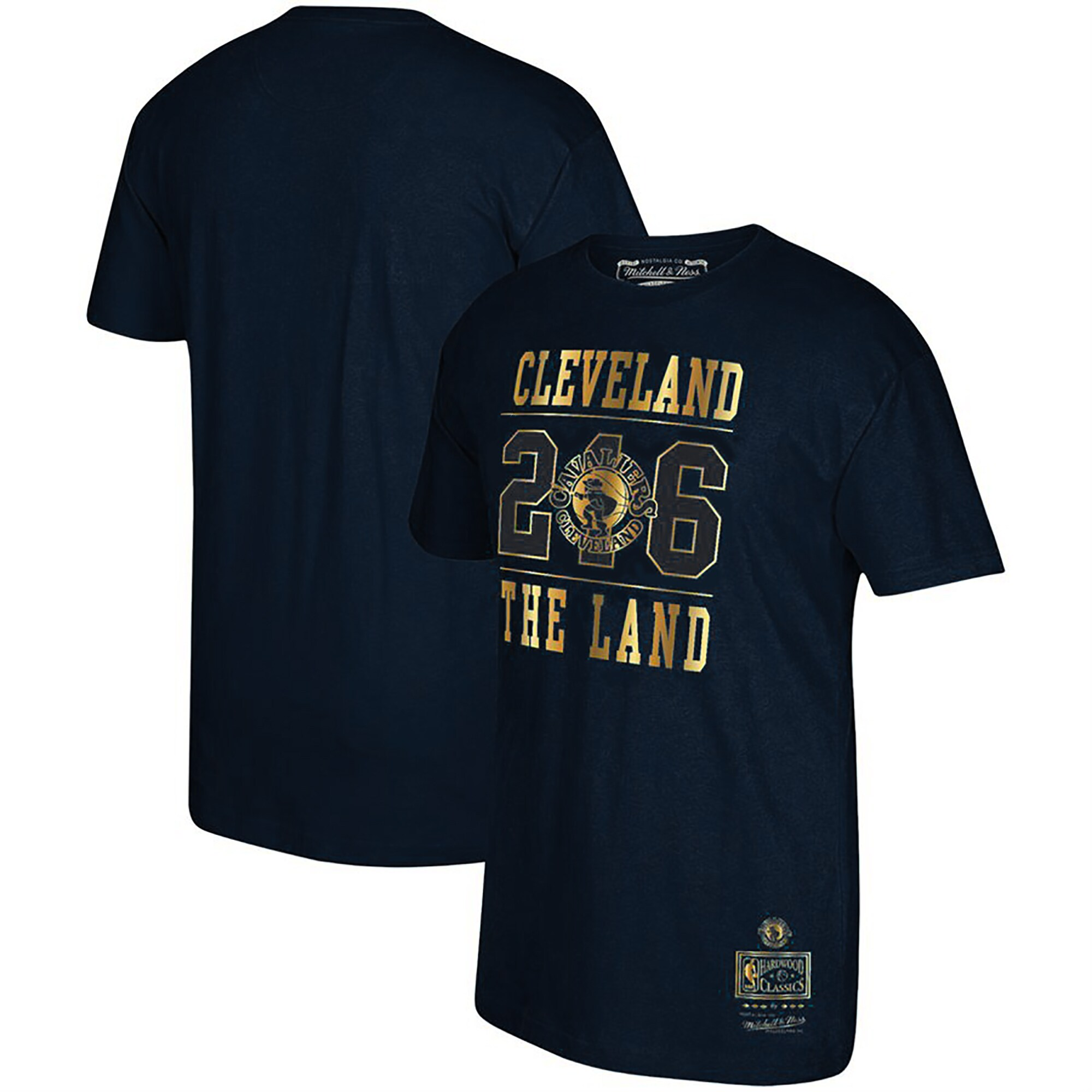 Cleveland Cavaliers Mitchell & Ness Area Code T-Shirt - Navy