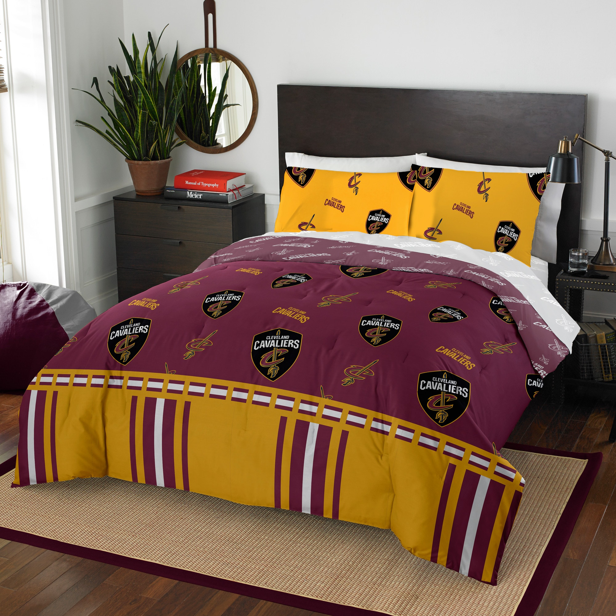Cleveland Cavaliers The Northwest Company 5-Piece Full Bed in a Bag Set