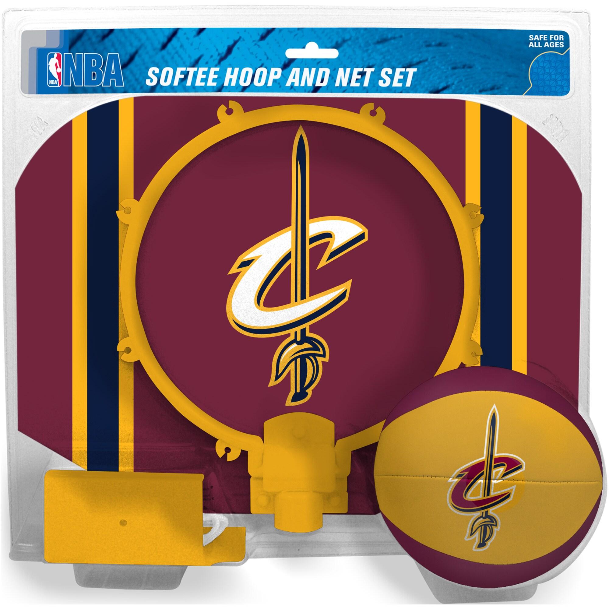 Cleveland Cavaliers Rawlings Softee Hoop & Ball Set