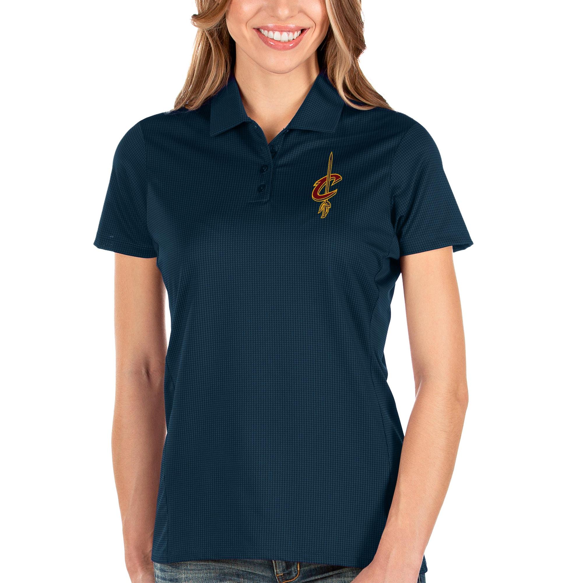 Cleveland Cavaliers Antigua Women's Balance Polo - Navy