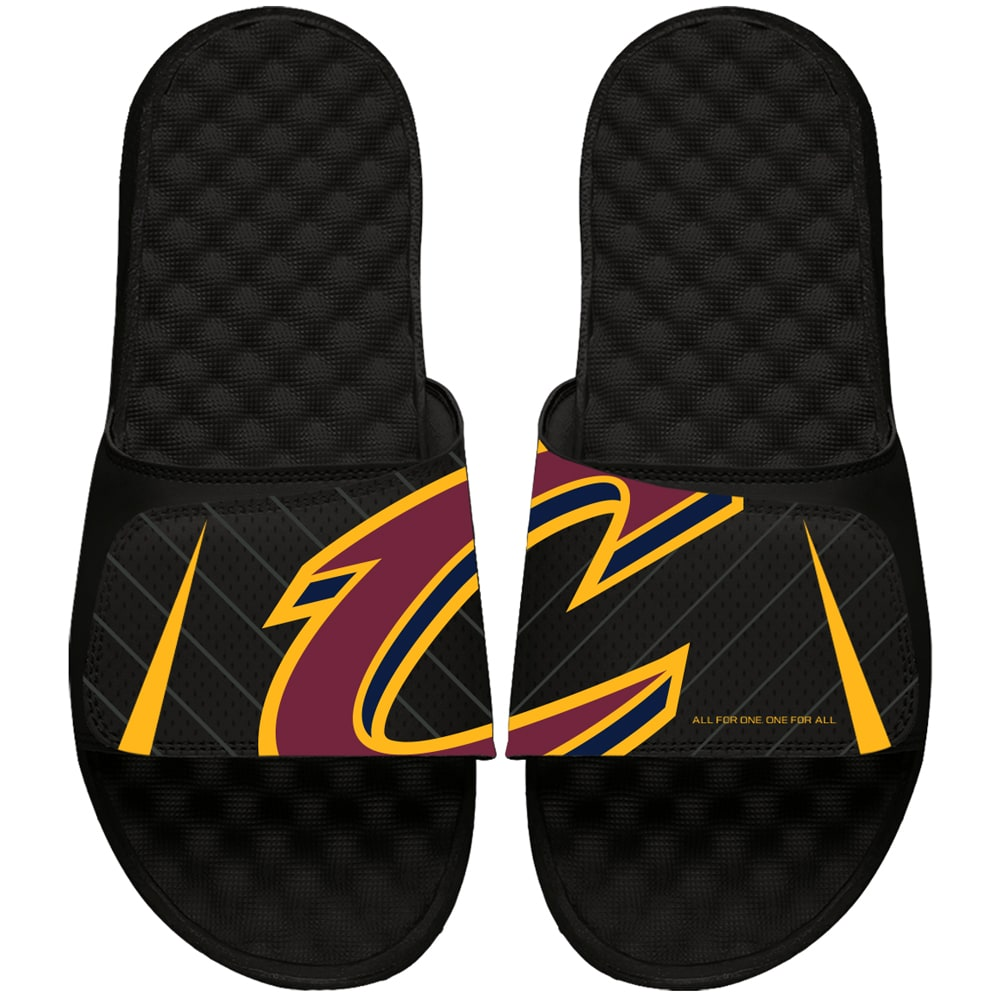 Cleveland Cavaliers ISlide Statement Jersey Slide Sandals - Black