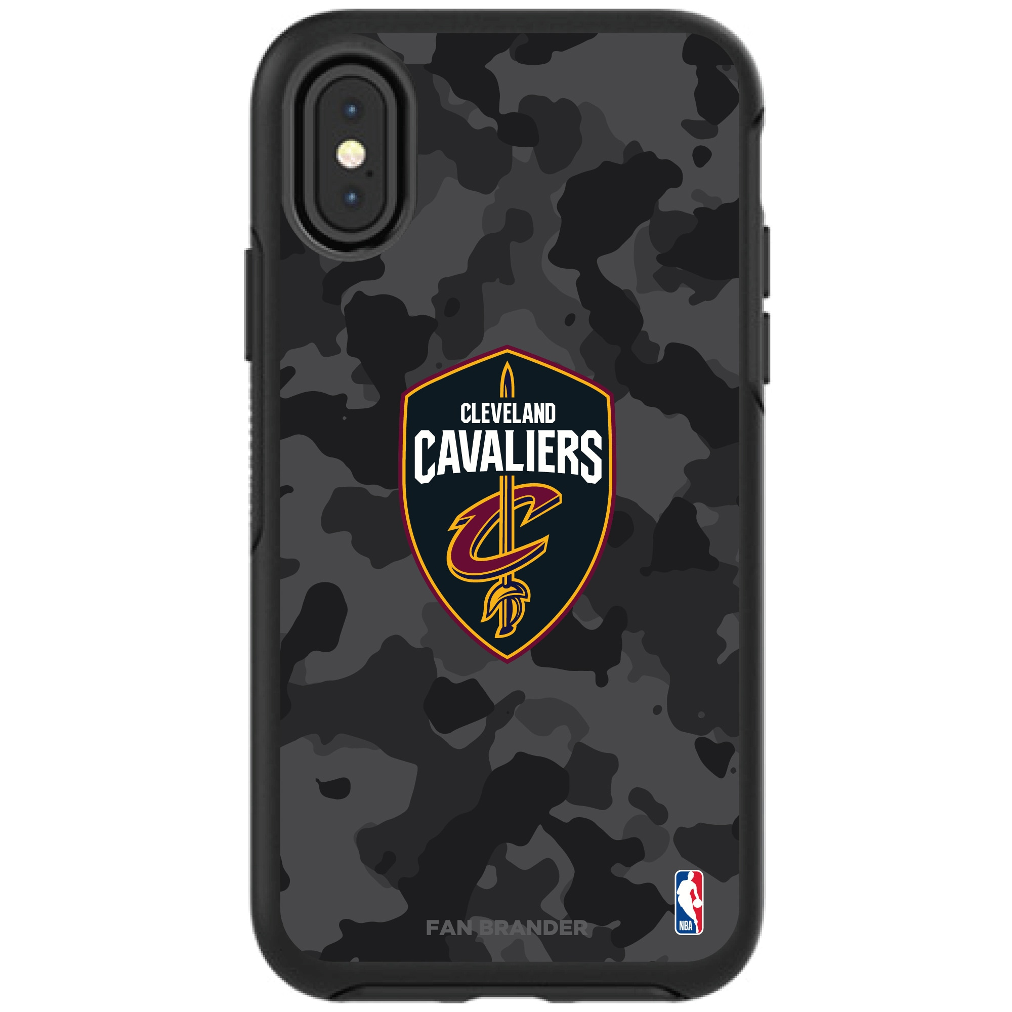 Cleveland Cavaliers OtterBox Urban Camo iPhone Case