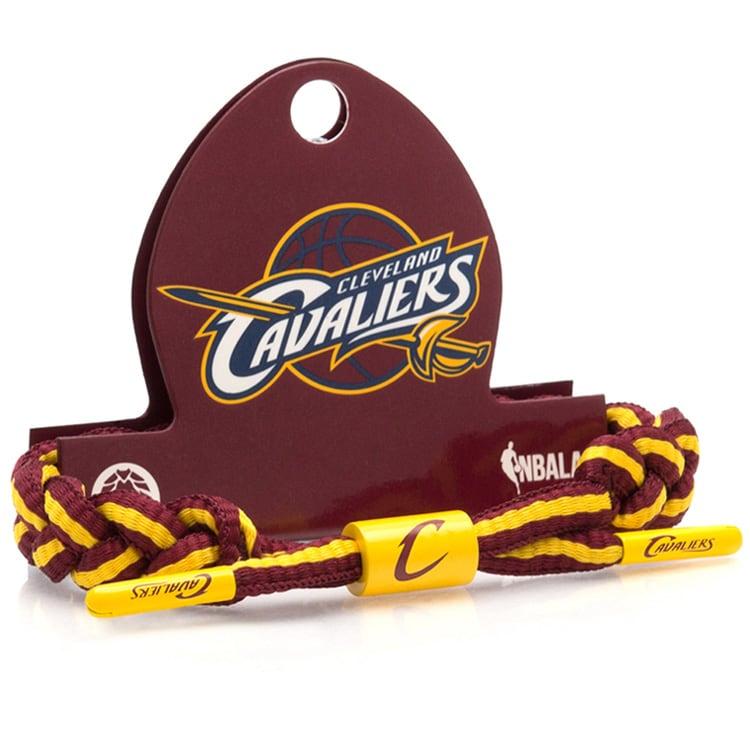 Cleveland Cavaliers Rastaclat Team Logo Classic Braided Bracelet