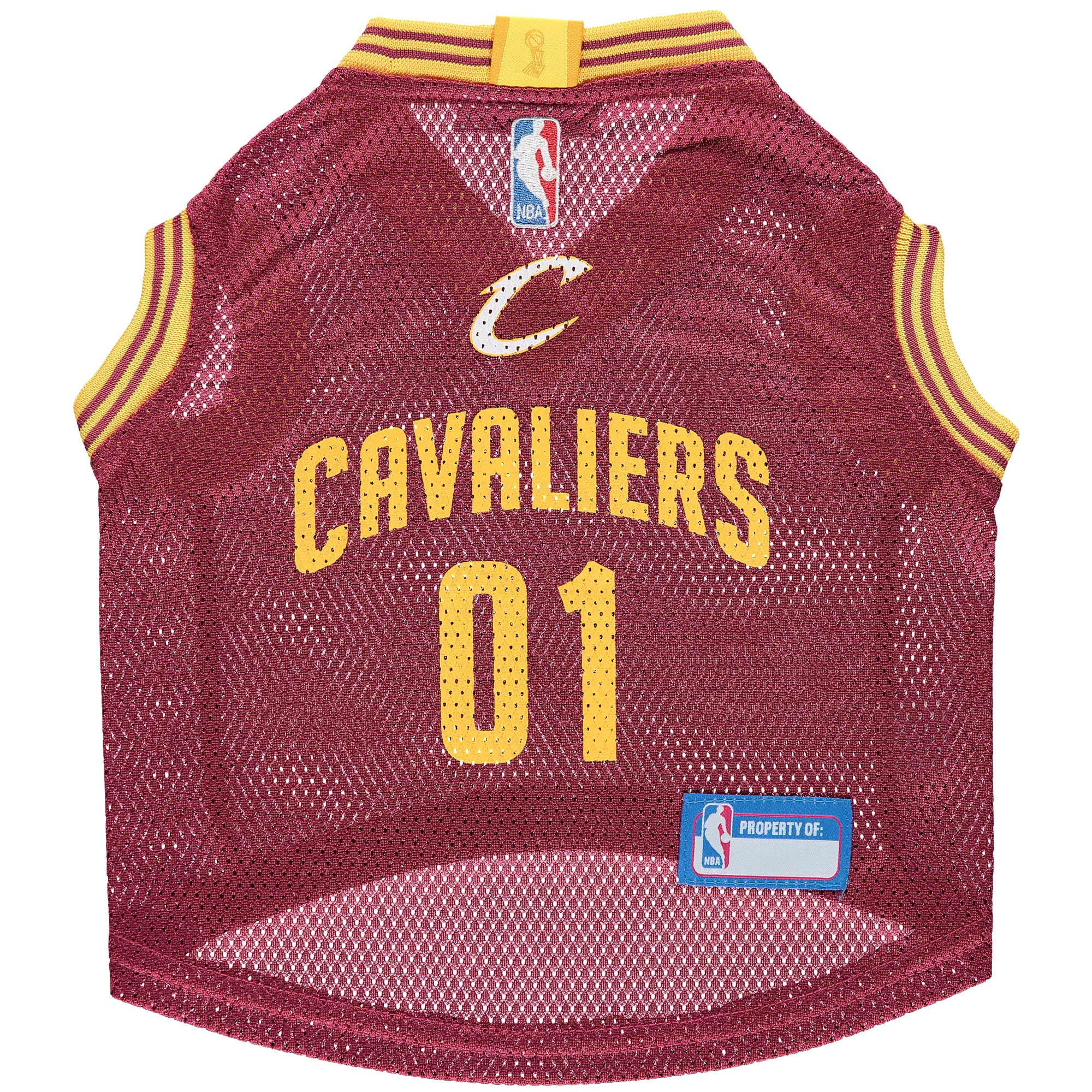 Cleveland Cavaliers Mesh Basketball Dog Jersey