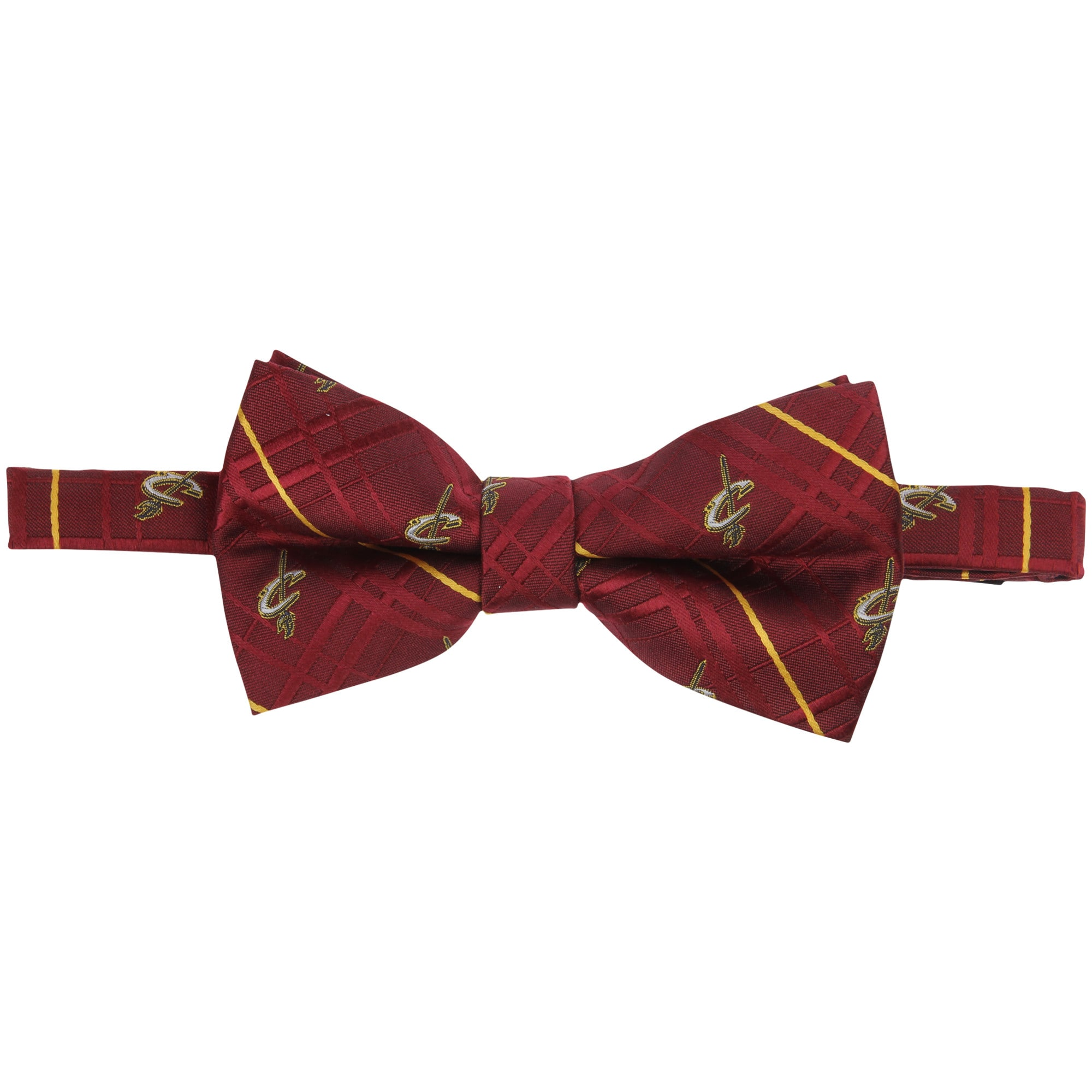 Cleveland Cavaliers Oxford Bow Tie - Wine