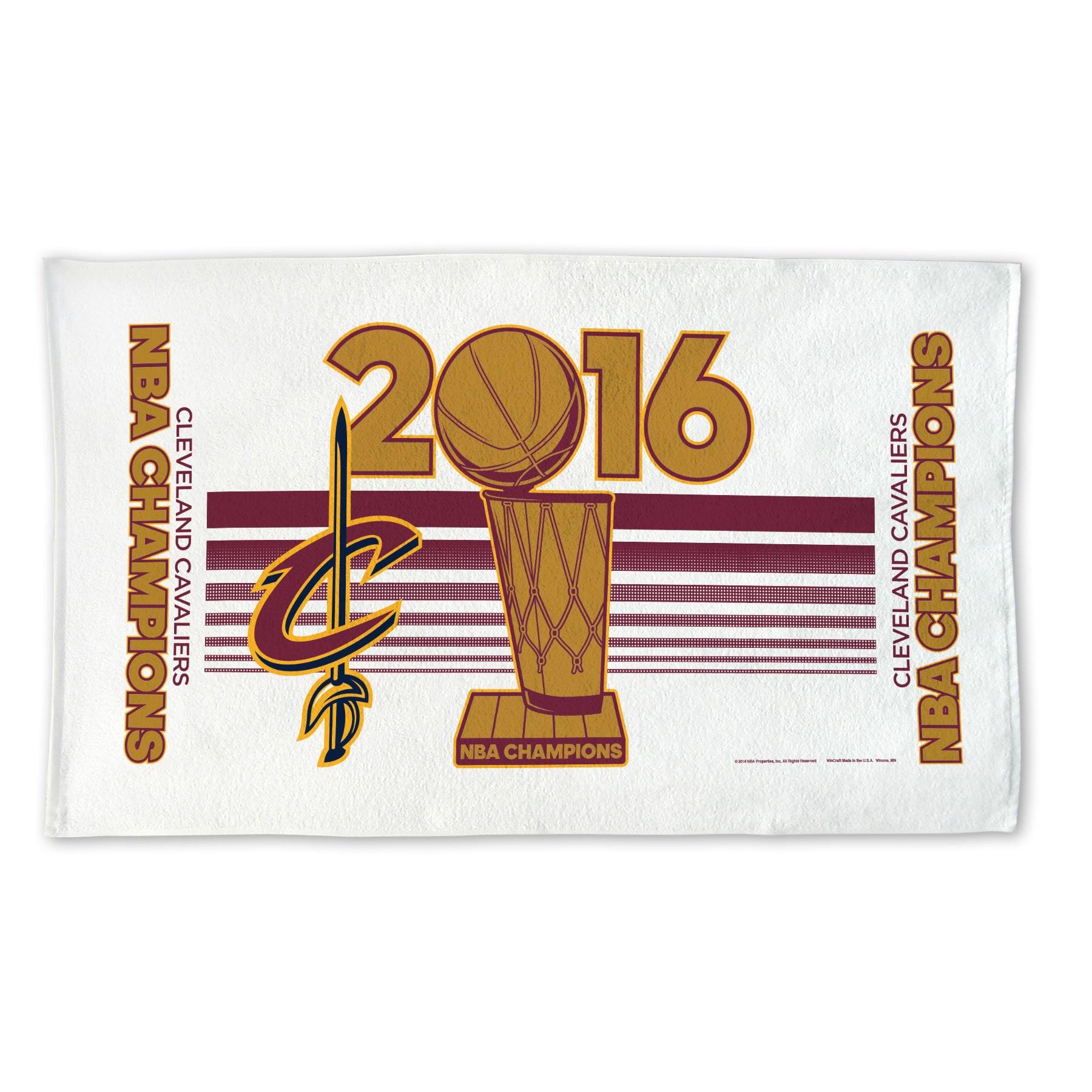 "Cleveland Cavaliers WinCraft 2016 NBA Finals Champions 24"" x 42"" On Court Locker Room Towel"