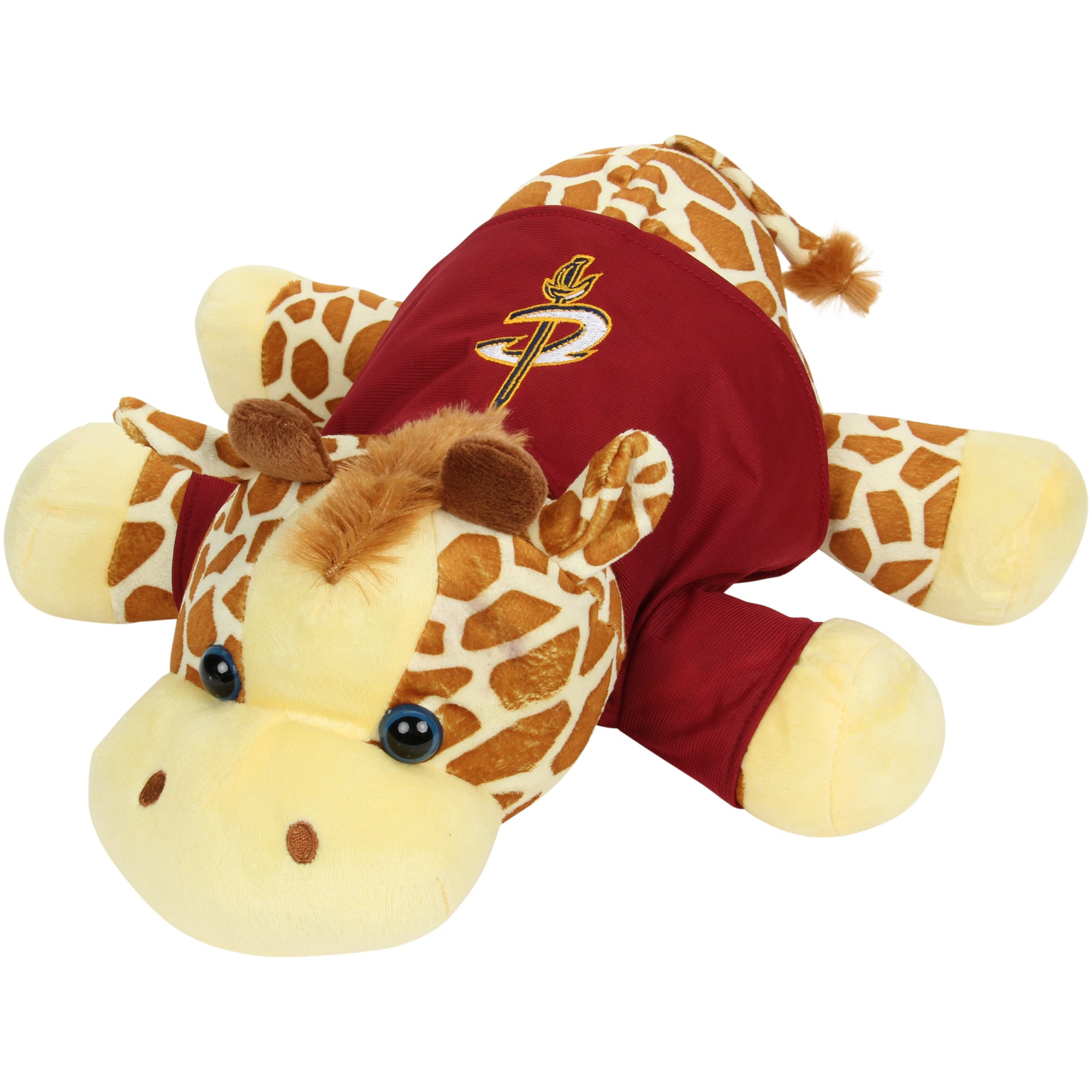 "Cleveland Cavaliers 13"" Floppy Feet Giraffe"