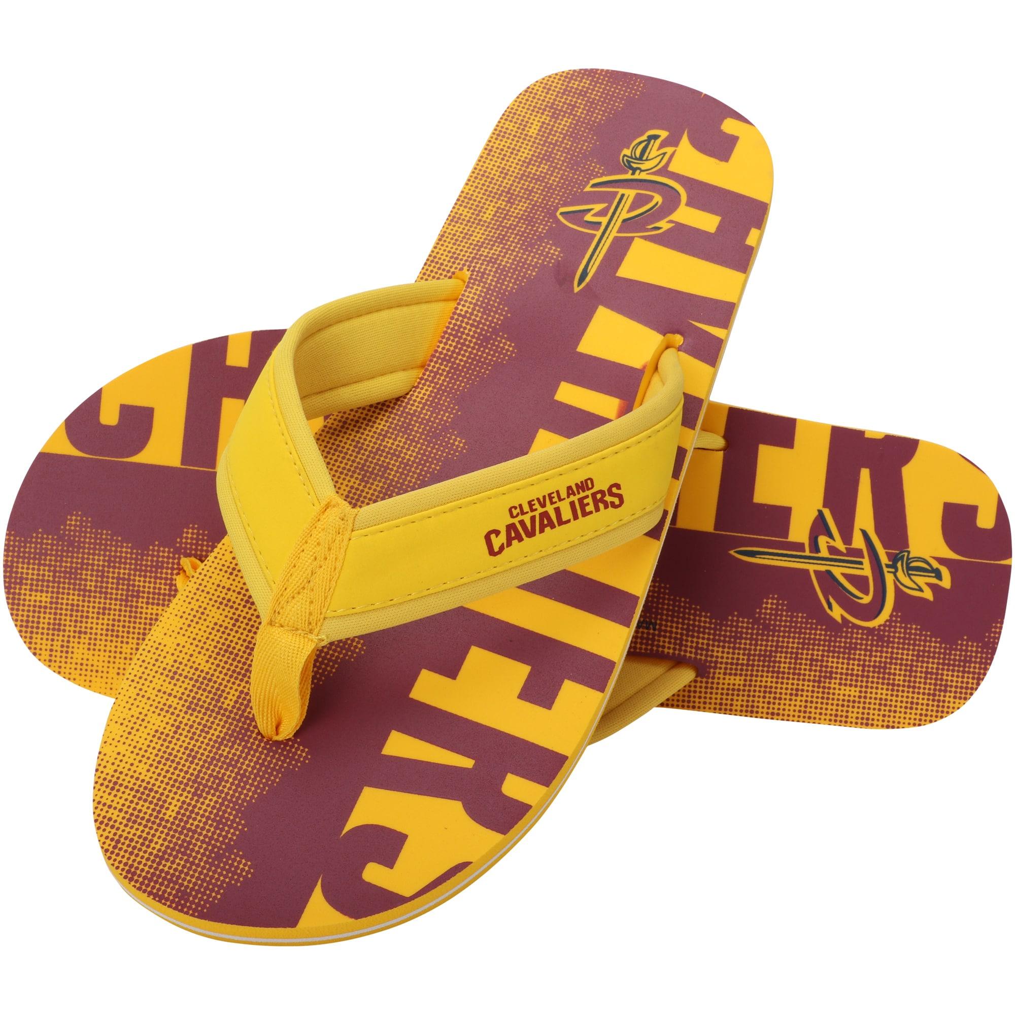 Cleveland Cavaliers Contour Fade Wordmark Flip Flops