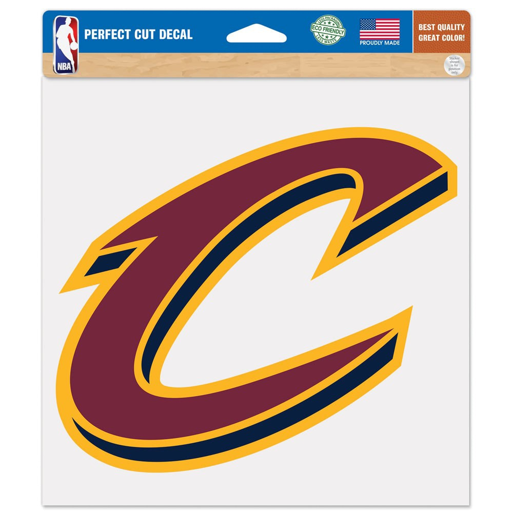 """Cleveland Cavaliers WinCraft 8"""" x 8"""" Color Decal"""