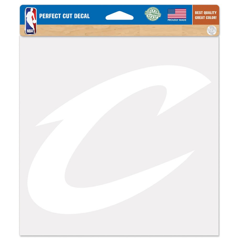 """Cleveland Cavaliers WinCraft 8"""" x 8"""" Car Decal"""