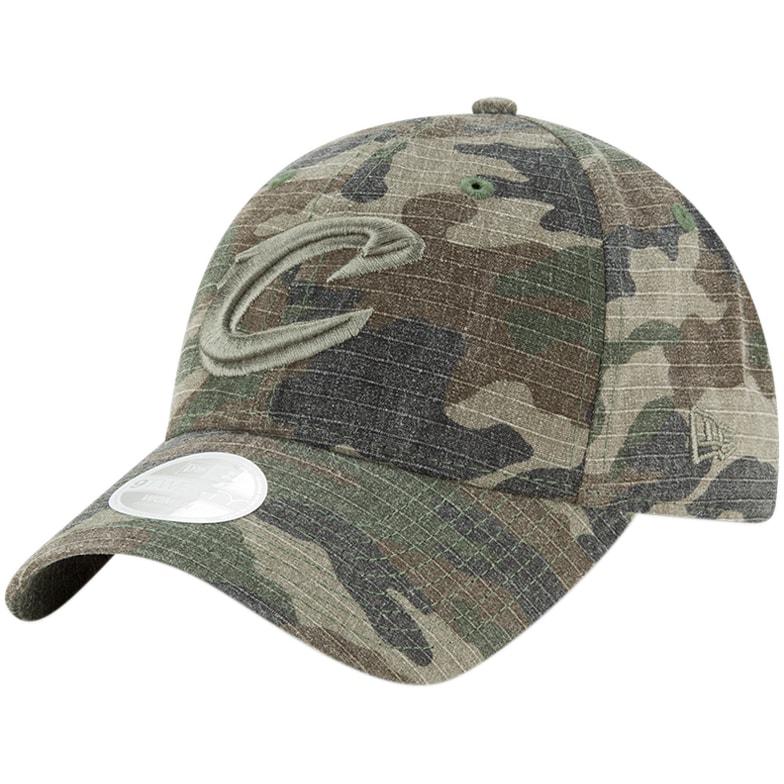 Cleveland Cavaliers New Era Women's Core Classic 9TWENTY Adjustable Hat - Camo