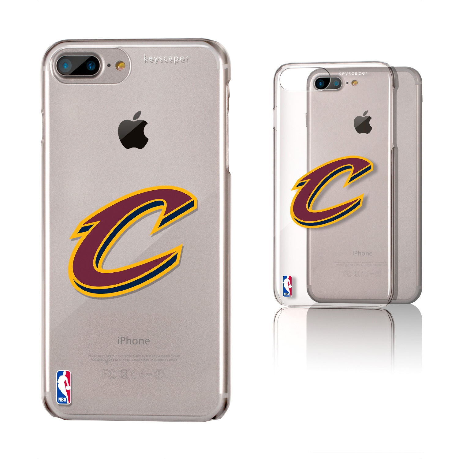 Cleveland Cavaliers iPhone 6 Plus/7 Plus/8 Plus Clear Case