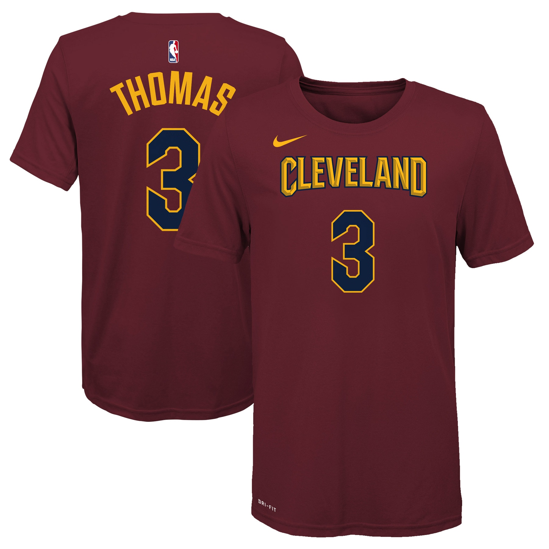 Isaiah Thomas Cleveland Cavaliers Nike Youth Name & Number T-Shirt - Maroon
